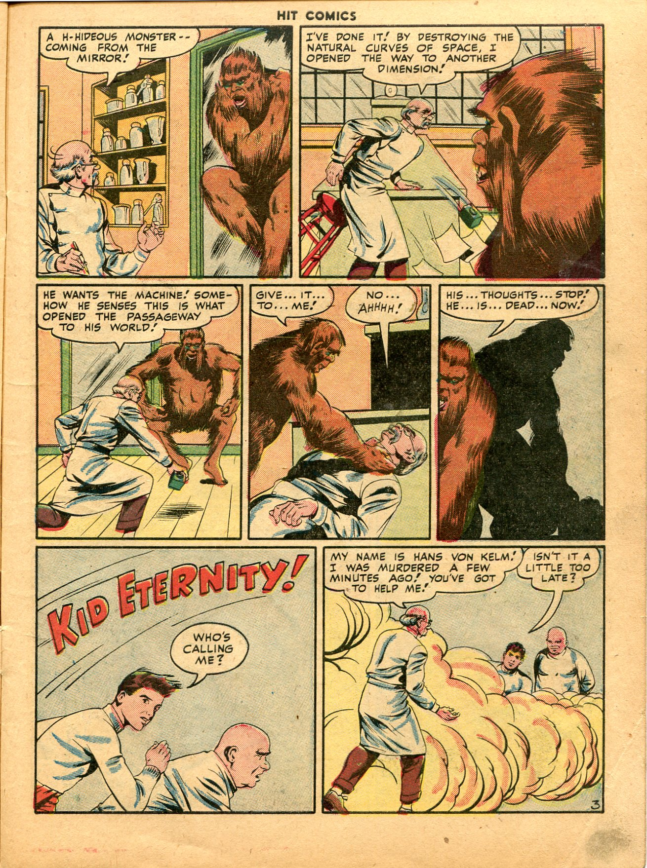 Read online Hit Comics comic -  Issue #49 - 5