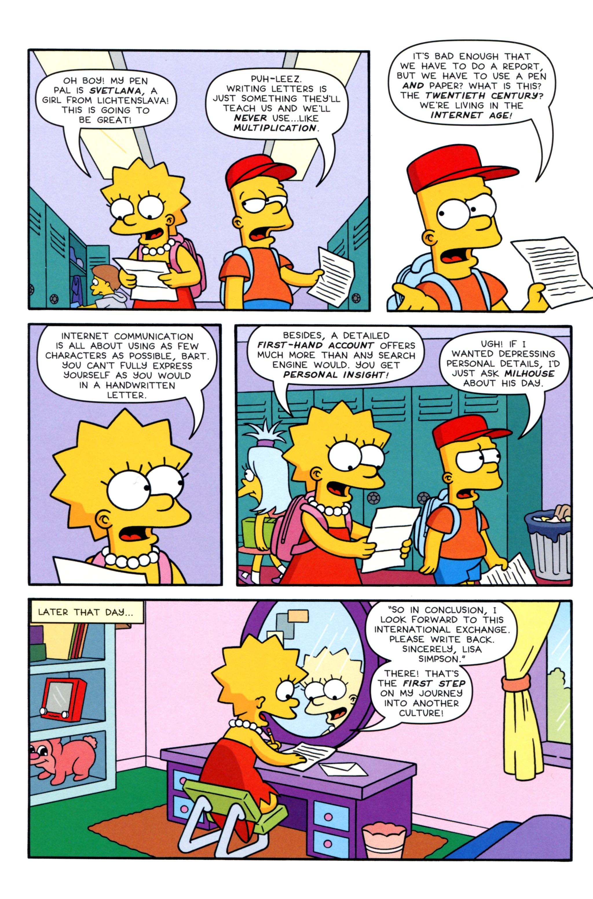 Read online Simpsons Comics Presents Bart Simpson comic -  Issue #93 - 4