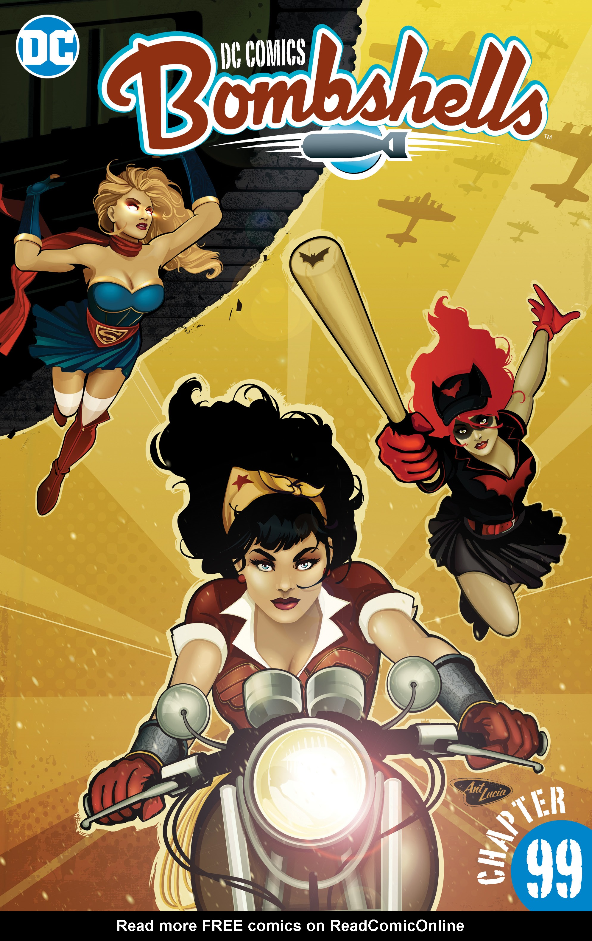 Read online DC Comics: Bombshells comic -  Issue #99 - 2