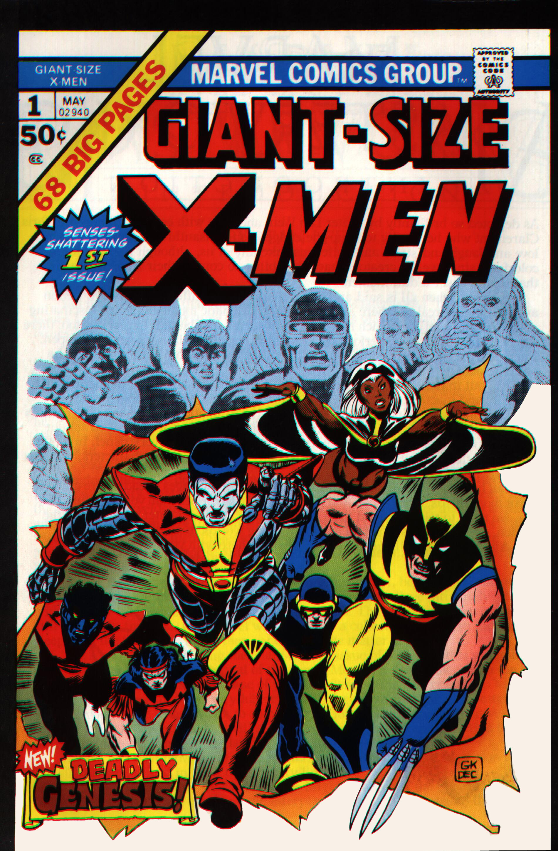 Read online Giant-Size X-Men comic -  Issue #1 - 1