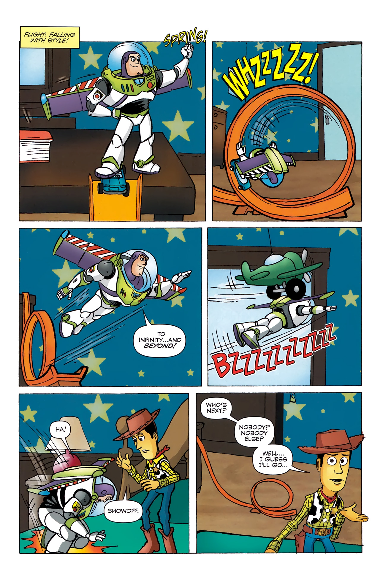 Read online Toy Story (2009) comic -  Issue #4 - 20