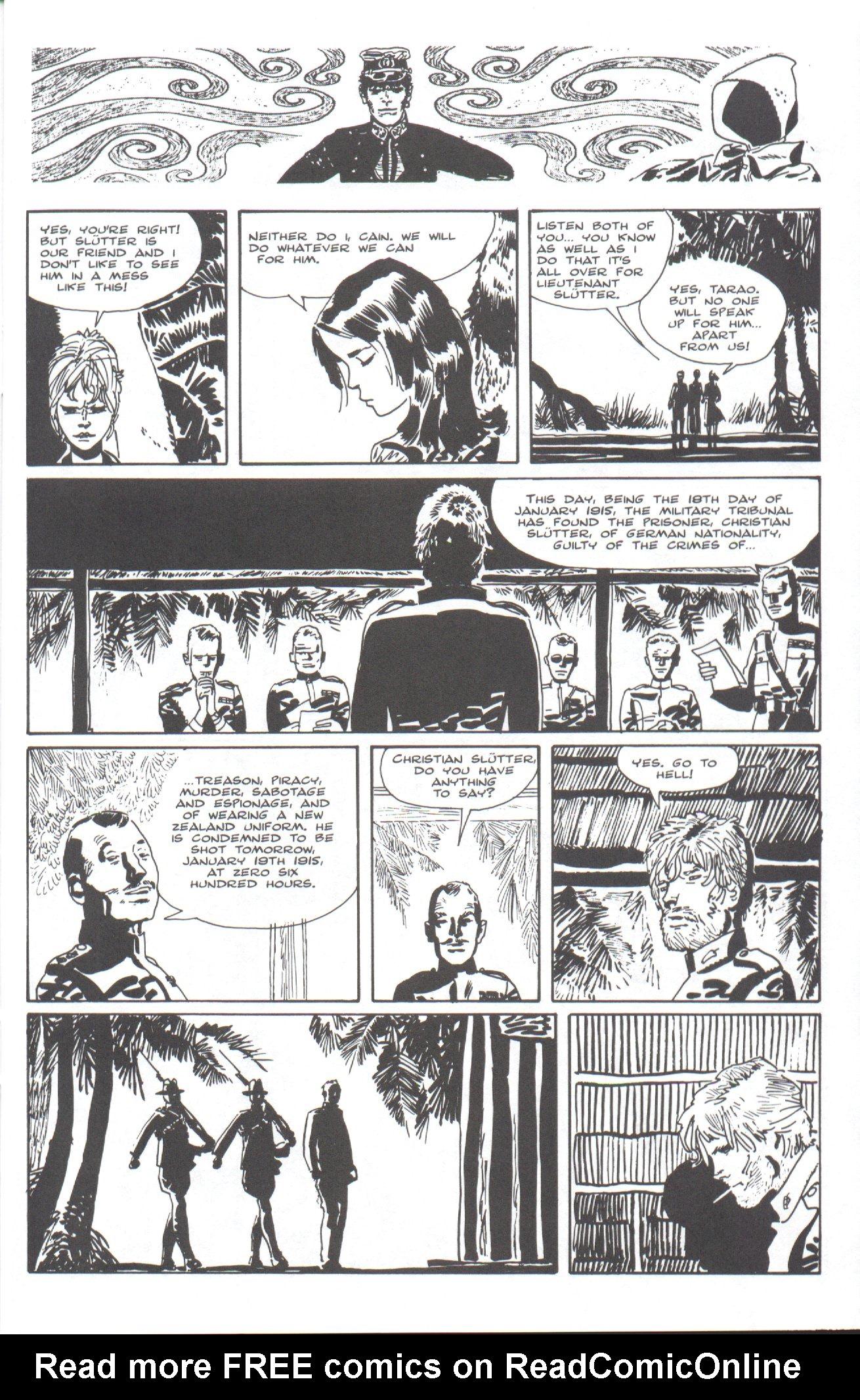 Read online Corto Maltese: Ballad of the Salt Sea comic -  Issue #7 - 7