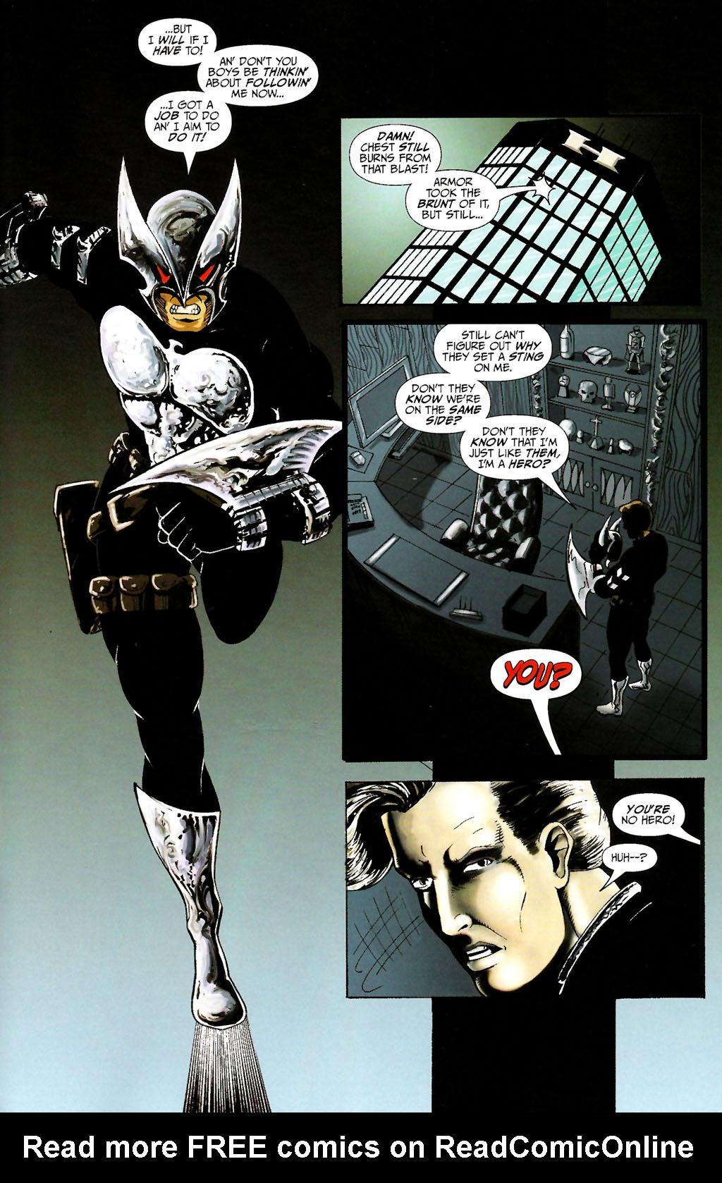 Read online ShadowHawk (2005) comic -  Issue #10 - 23
