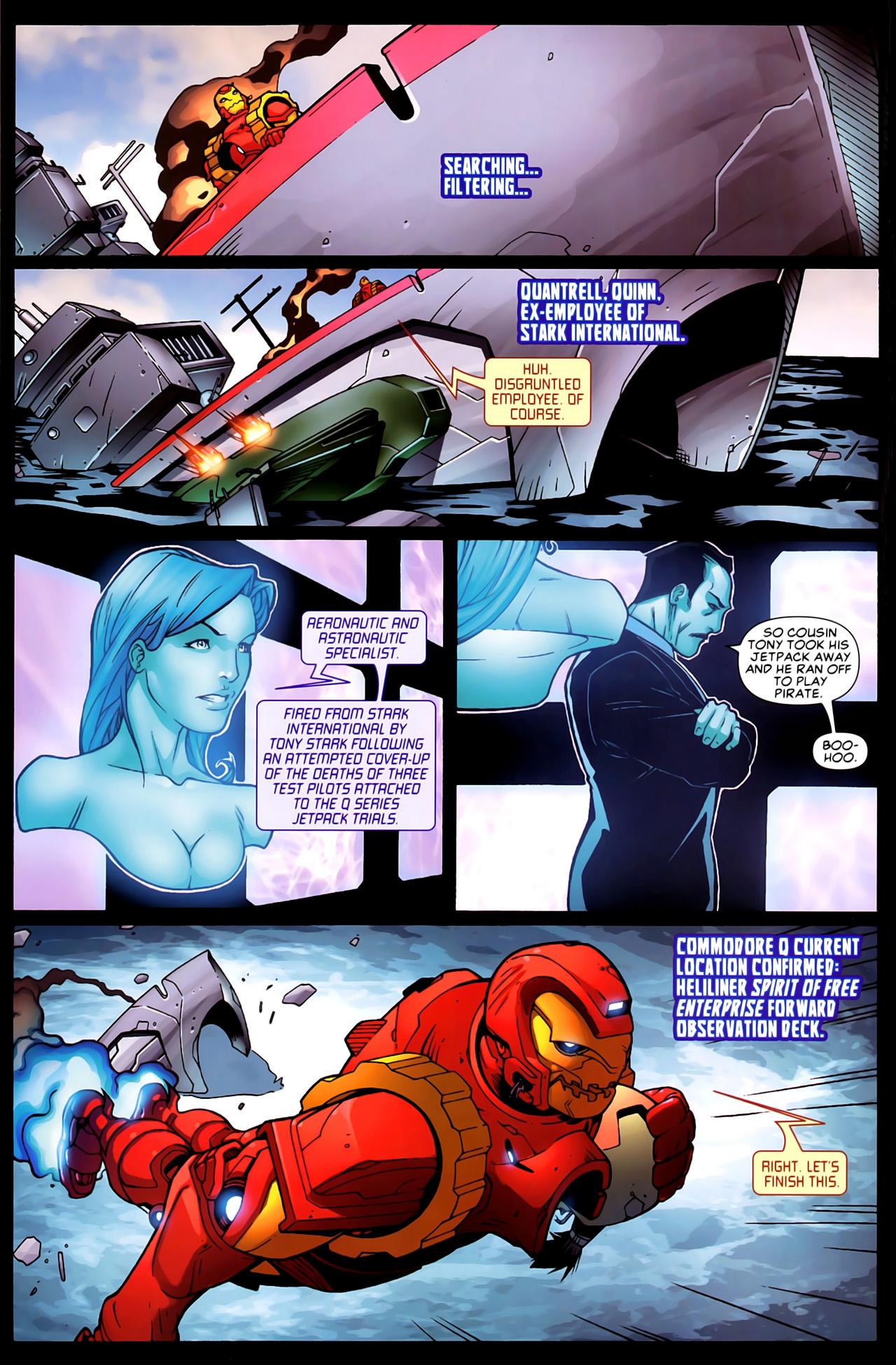 Read online Astonishing Tales (2009) comic -  Issue #6 - 13