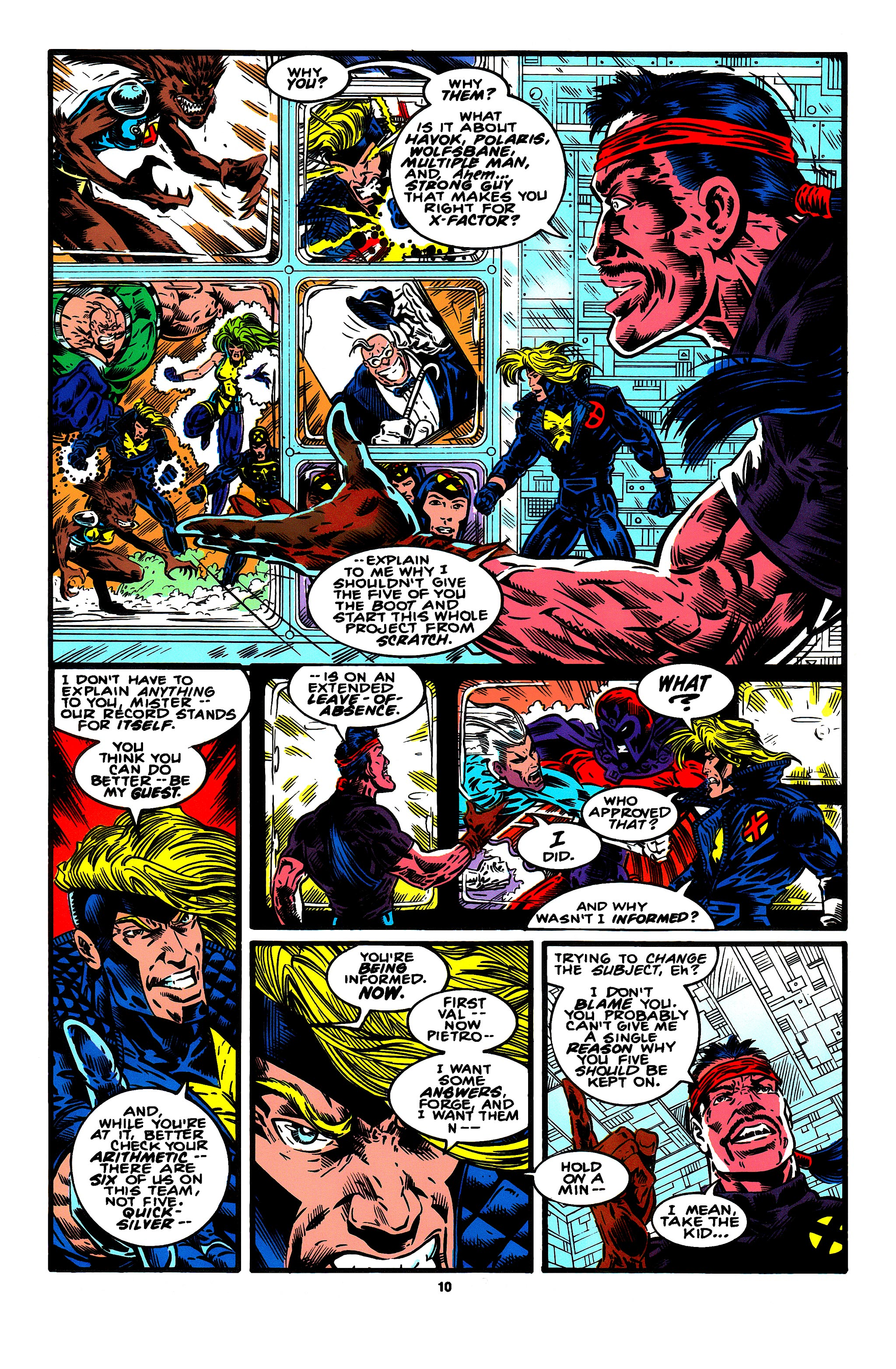 Read online X-Factor (1986) comic -  Issue #95 - 7