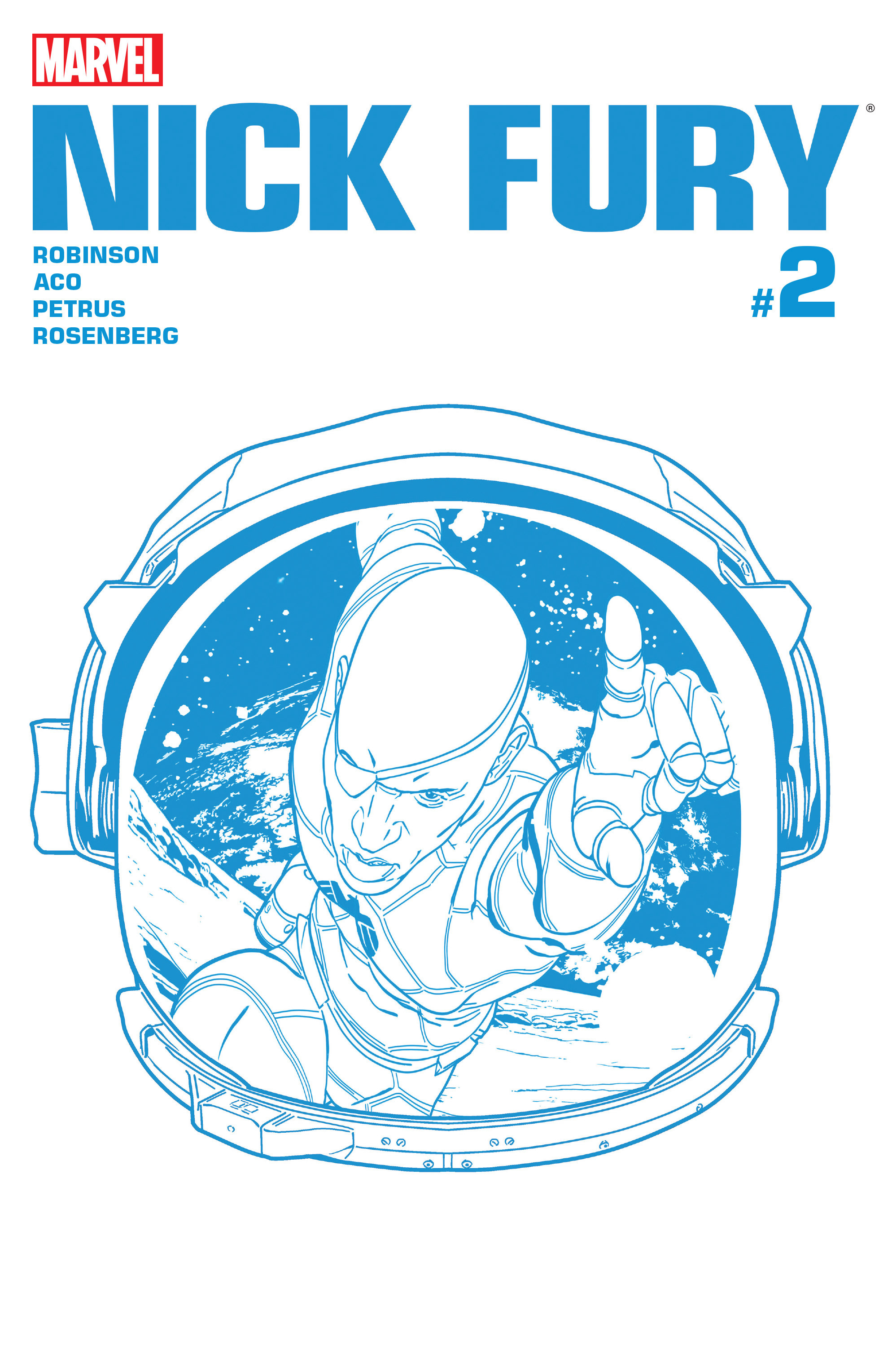 Read online Nick Fury comic -  Issue #2 - 1