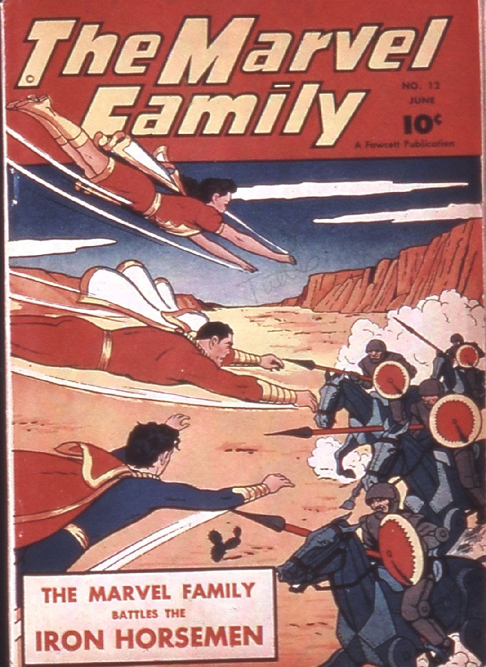 The Marvel Family 12 Page 1