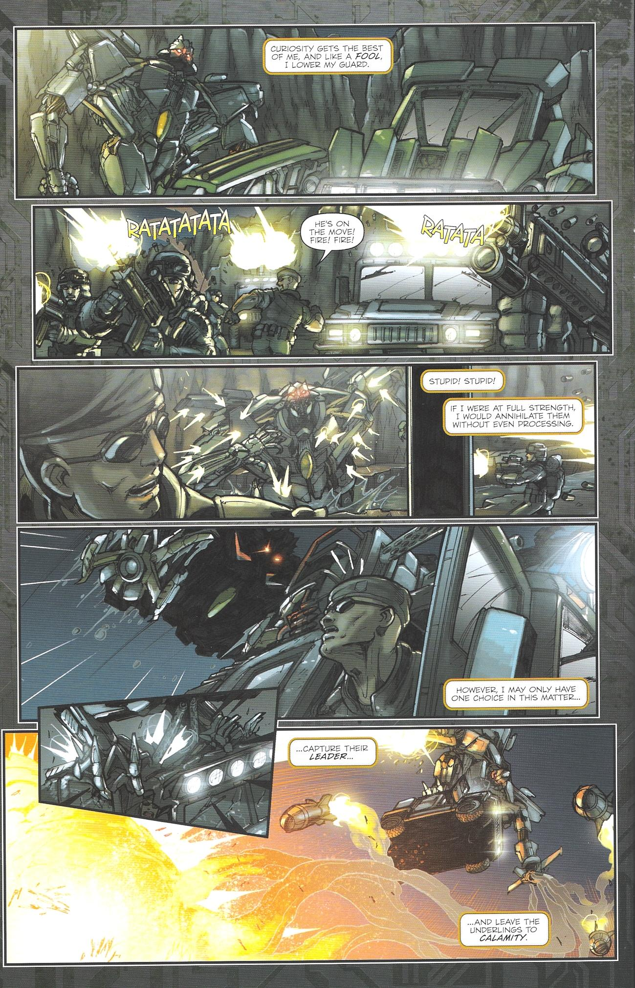 Read online Transformers: The Reign of Starscream comic -  Issue #2 - 16