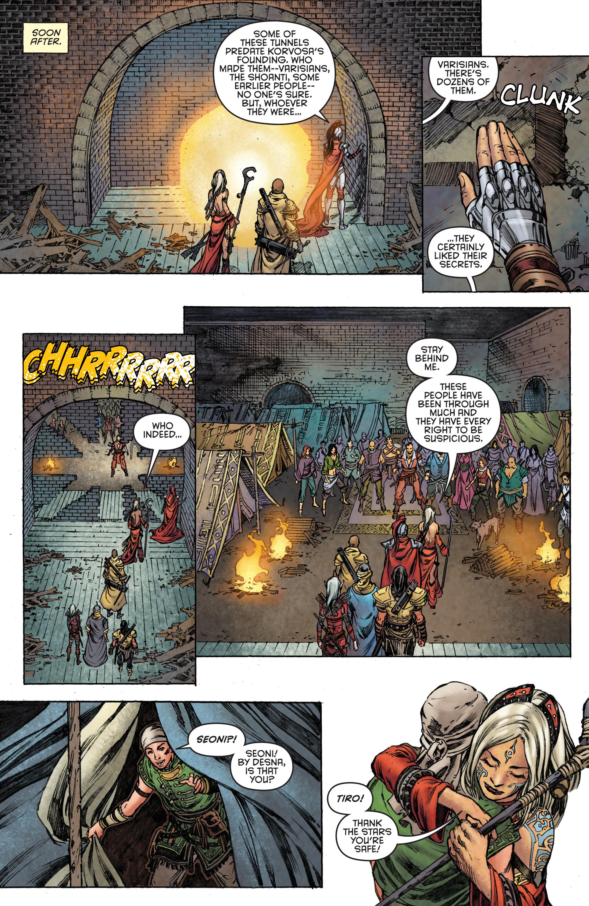 Read online Pathfinder: Runescars comic -  Issue #1 - 22