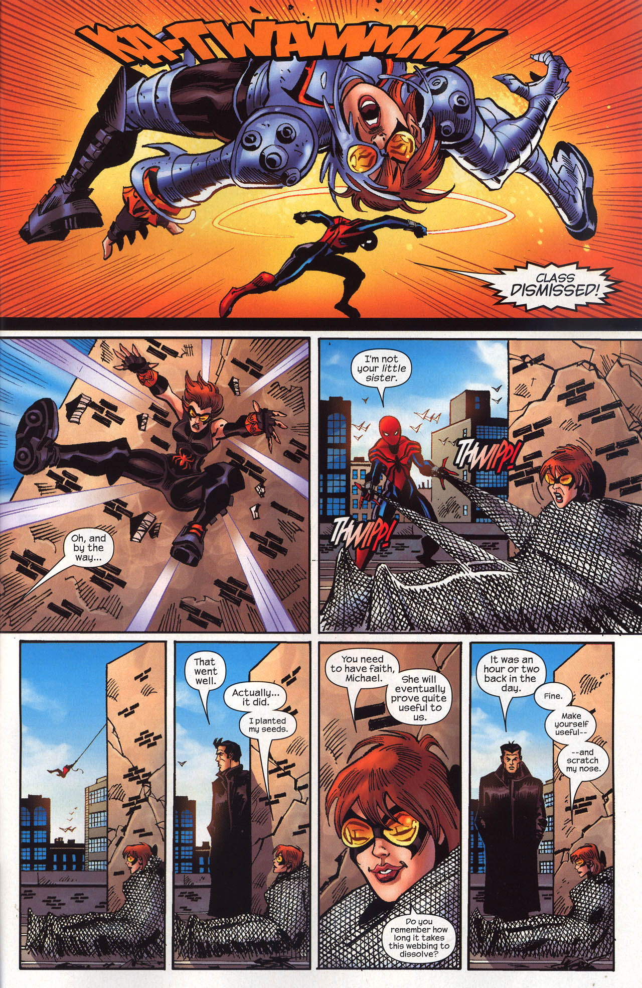 Read online Amazing Spider-Girl comic -  Issue #19 - 34