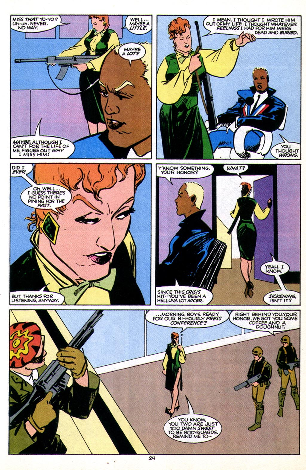 Read online American Flagg! comic -  Issue #43 - 30