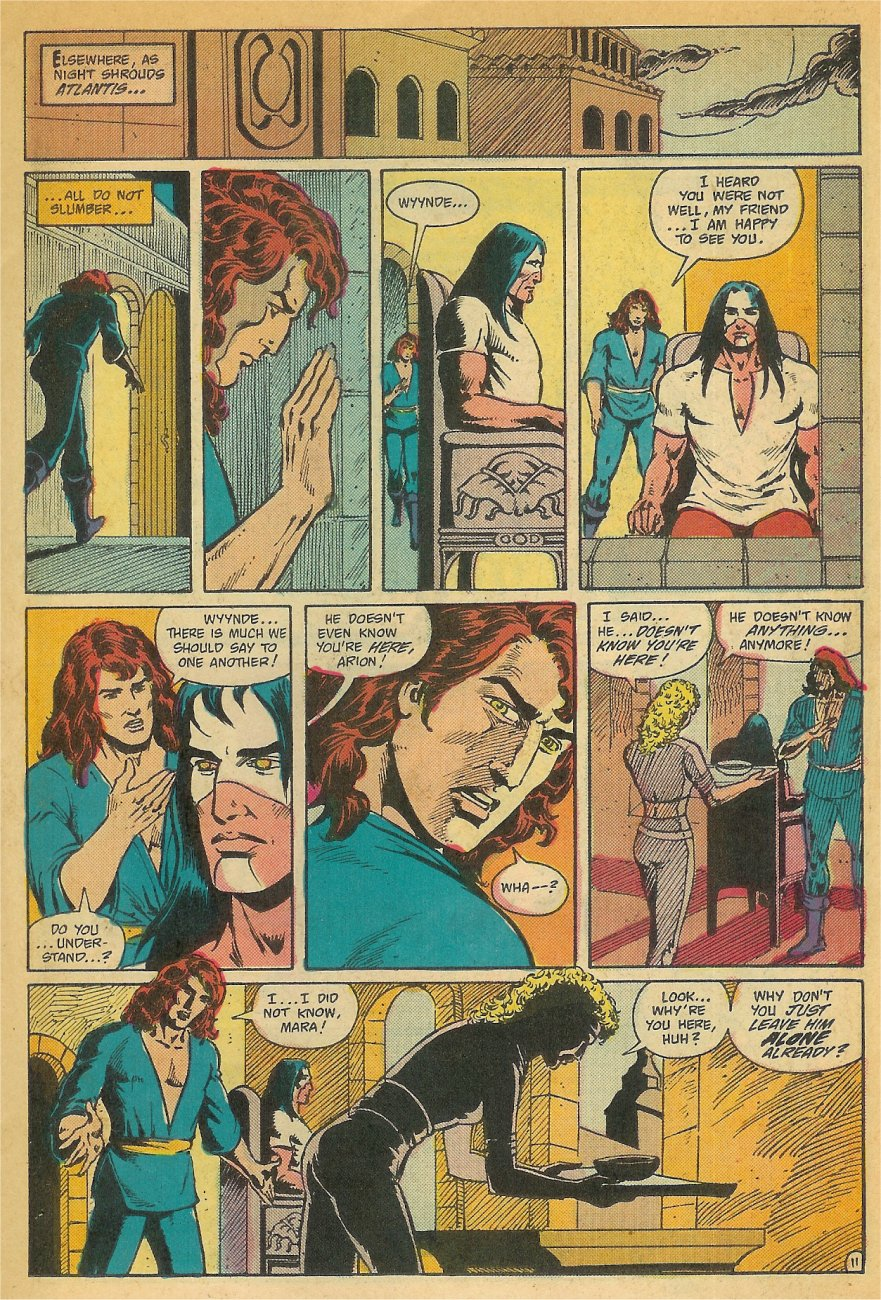 Read online Arion, Lord of Atlantis comic -  Issue #26 - 12