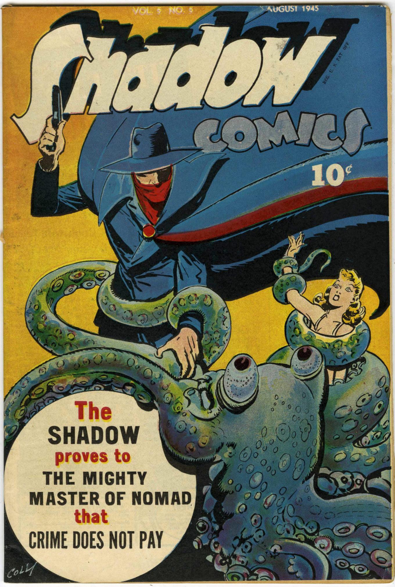 Read online Shadow Comics comic -  Issue #53 - 1