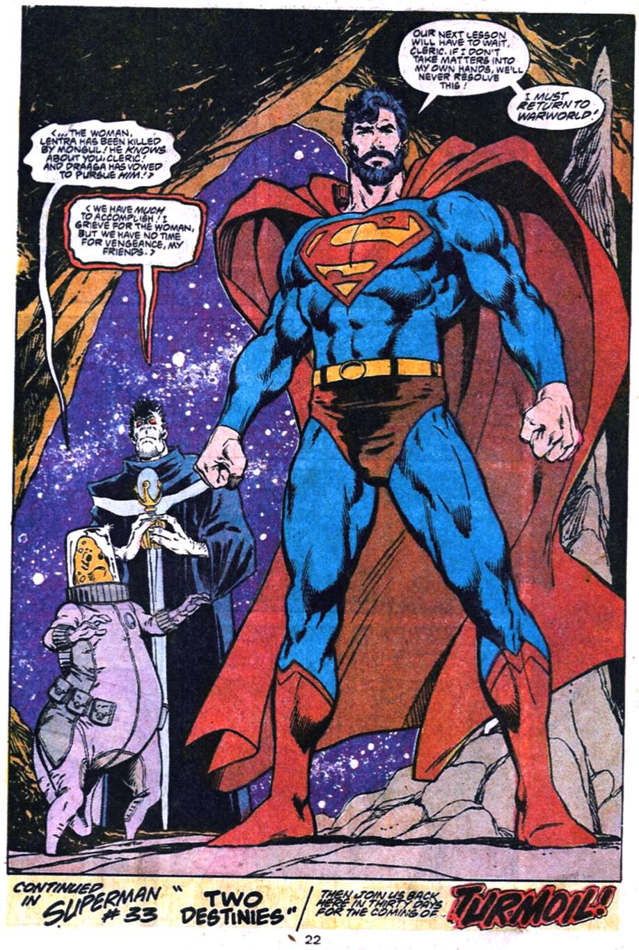 Read online Adventures of Superman (1987) comic -  Issue #455 - 23