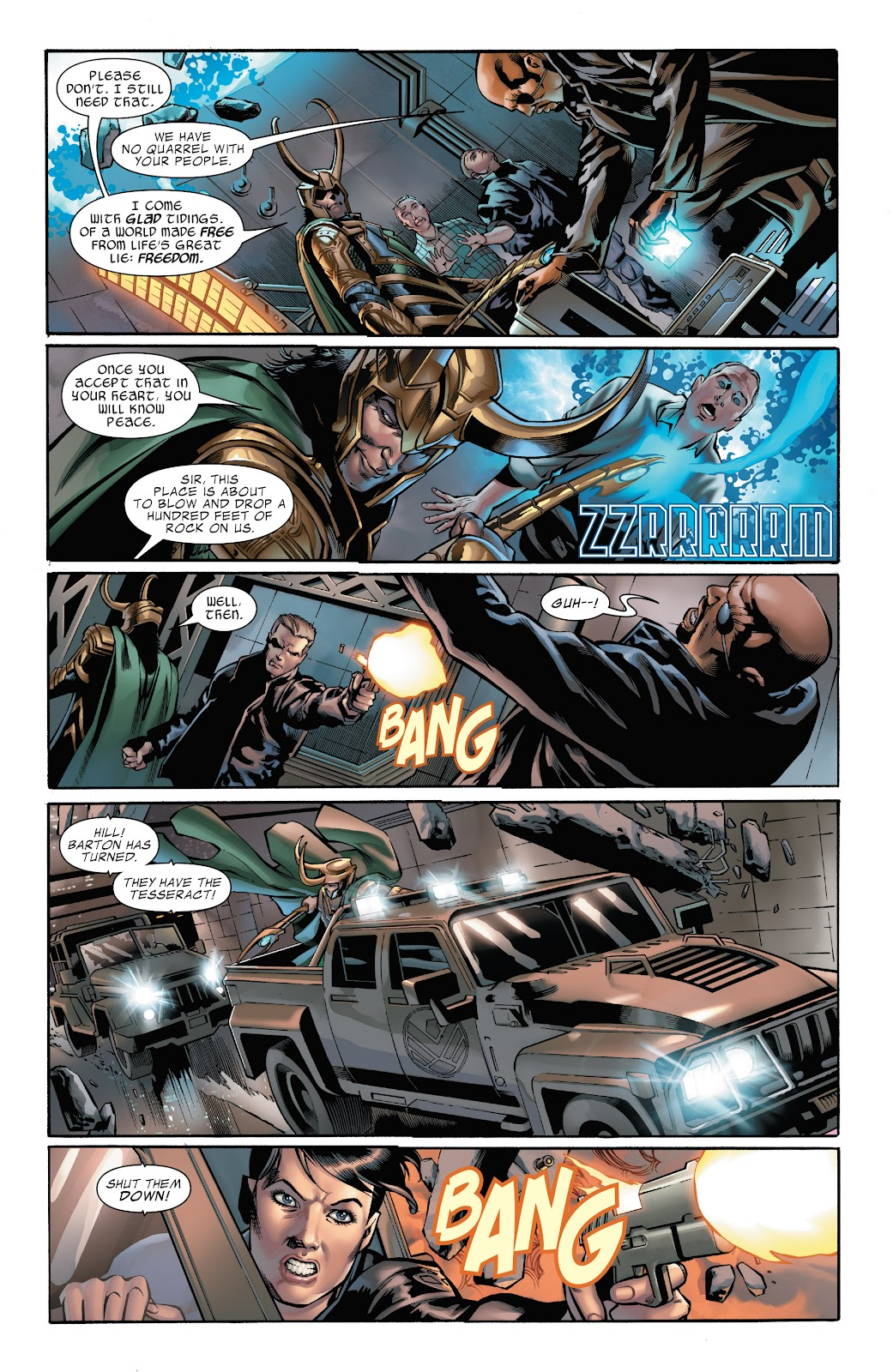 Read online Marvel's The Avengers comic -  Issue #1 - 6