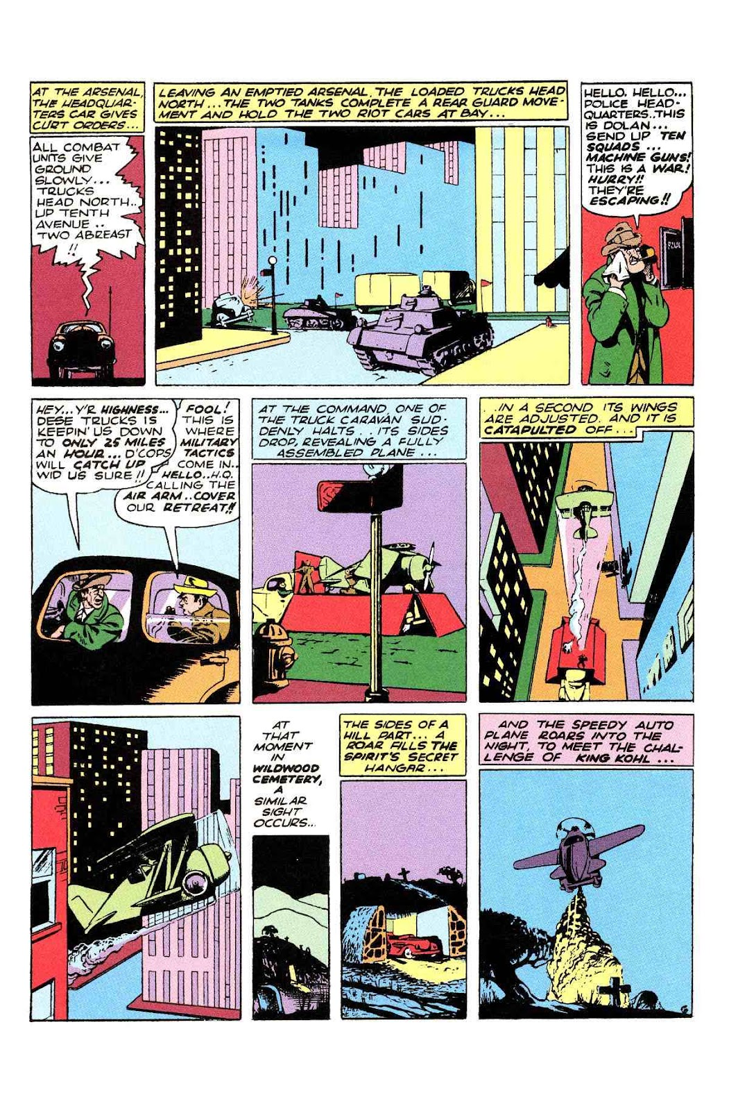 Read online Will Eisner's The Spirit Archives comic -  Issue # TPB 2 (Part 2) - 42