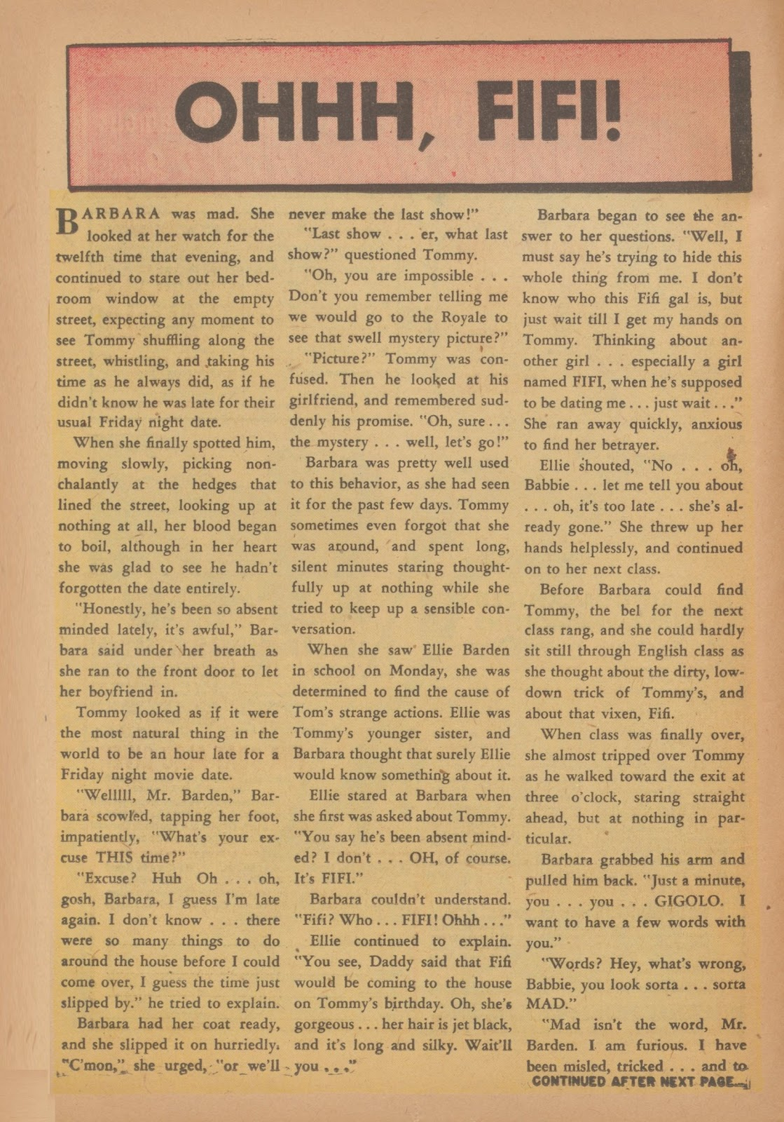 Read online Nellie The Nurse (1945) comic -  Issue #34 - 16