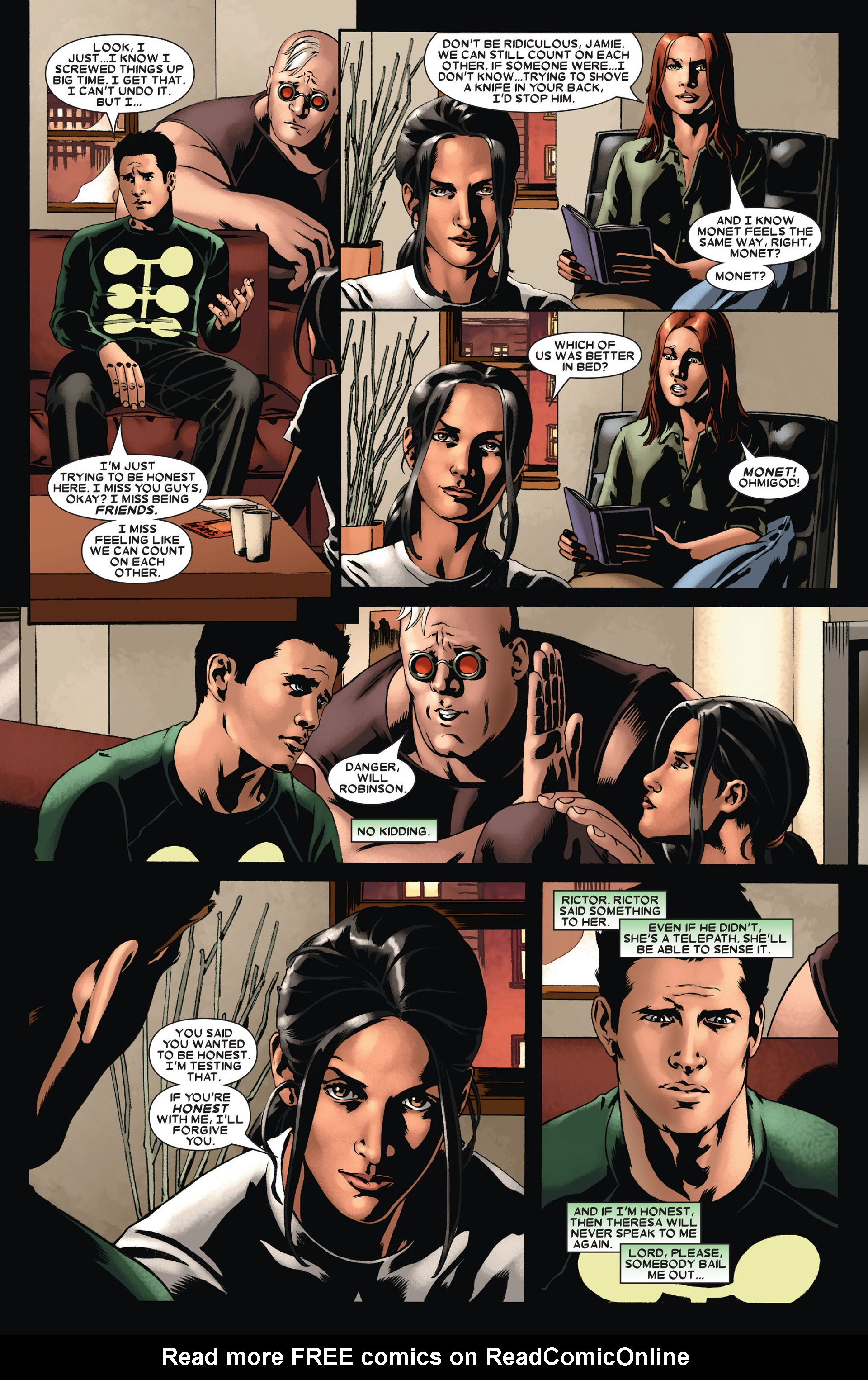 Read online X-Factor (2006) comic -  Issue #21 - 9