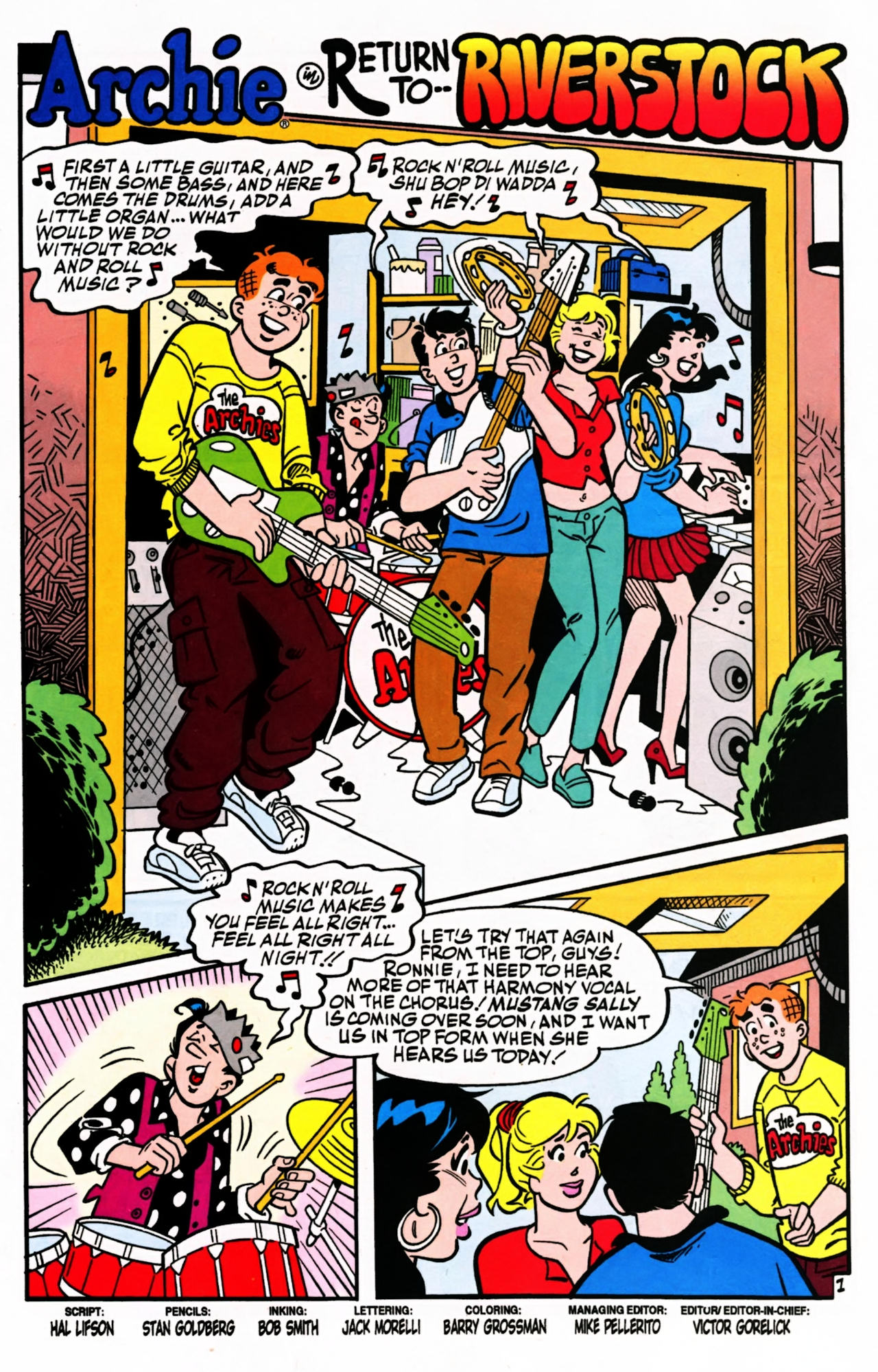 Read online Archie (1960) comic -  Issue #599 - 3