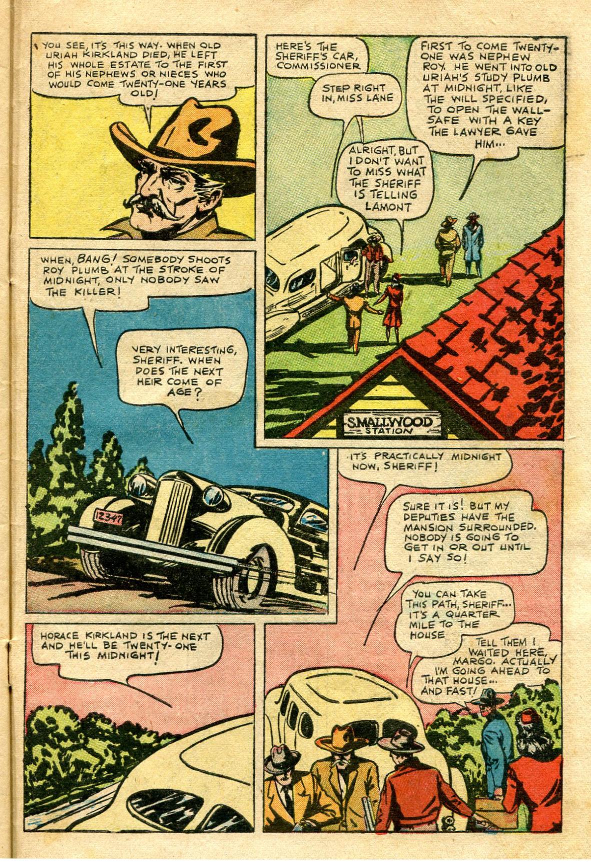 Read online Shadow Comics comic -  Issue #65 - 43