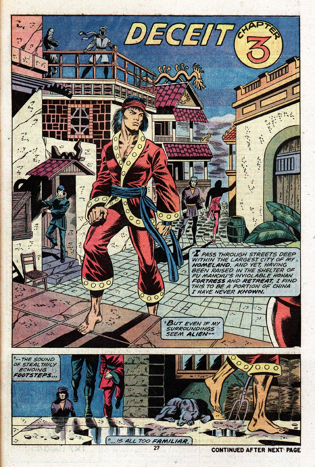 Read online Giant-Size Master of Kung Fu comic -  Issue #2 - 23