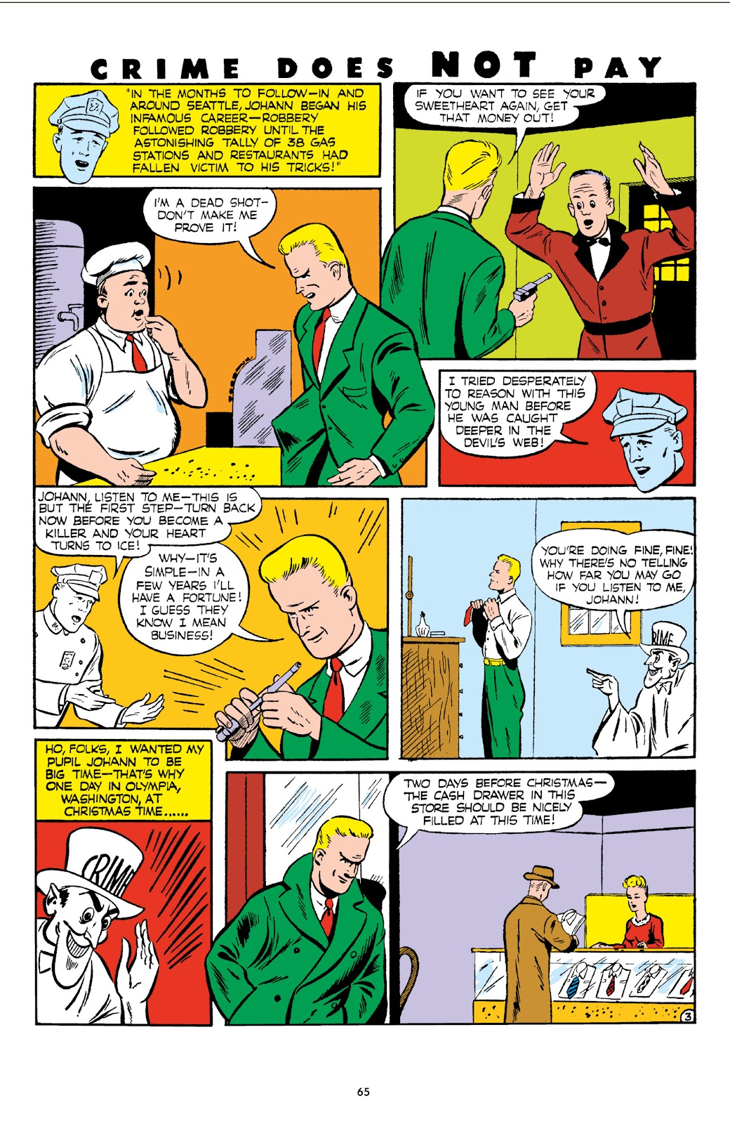 Read online Crime Does Not Pay Archives comic -  Issue # TPB 6 (Part 1) - 67