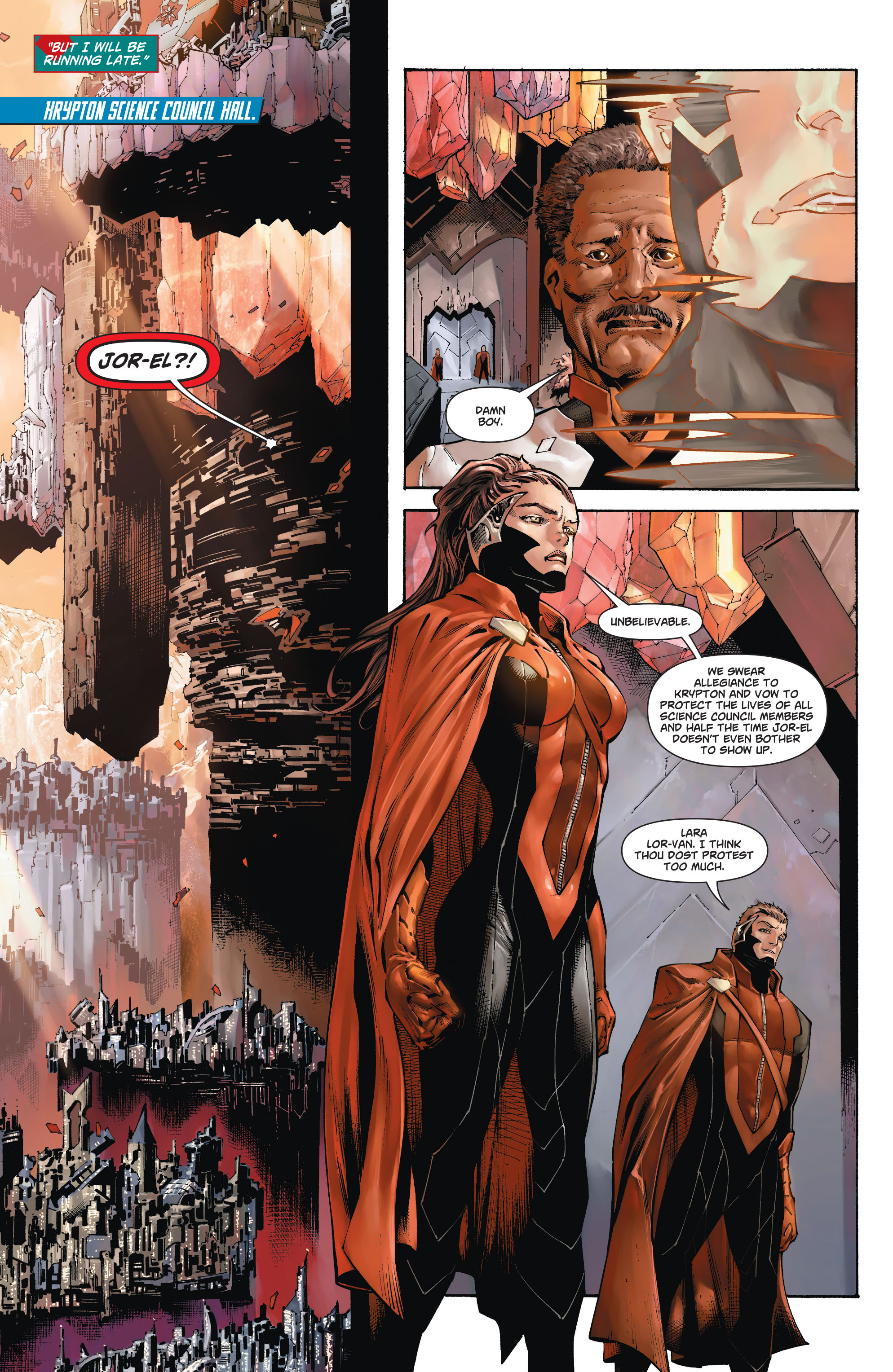 Read online Action Comics (2011) comic -  Issue #20 - 24