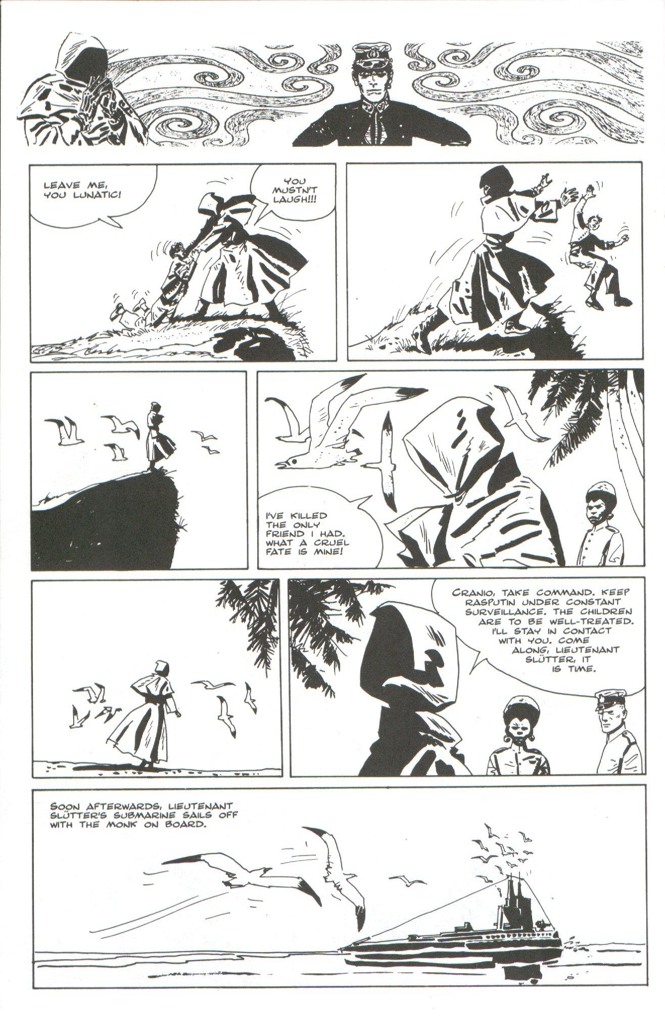 Read online Corto Maltese: Ballad of the Salt Sea comic -  Issue #4 - 20