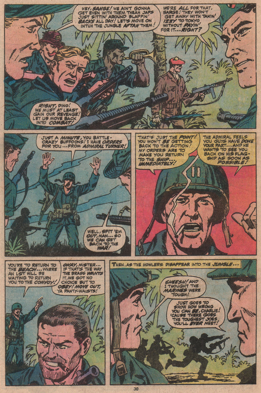 Read online Sgt. Fury comic -  Issue #145 - 32