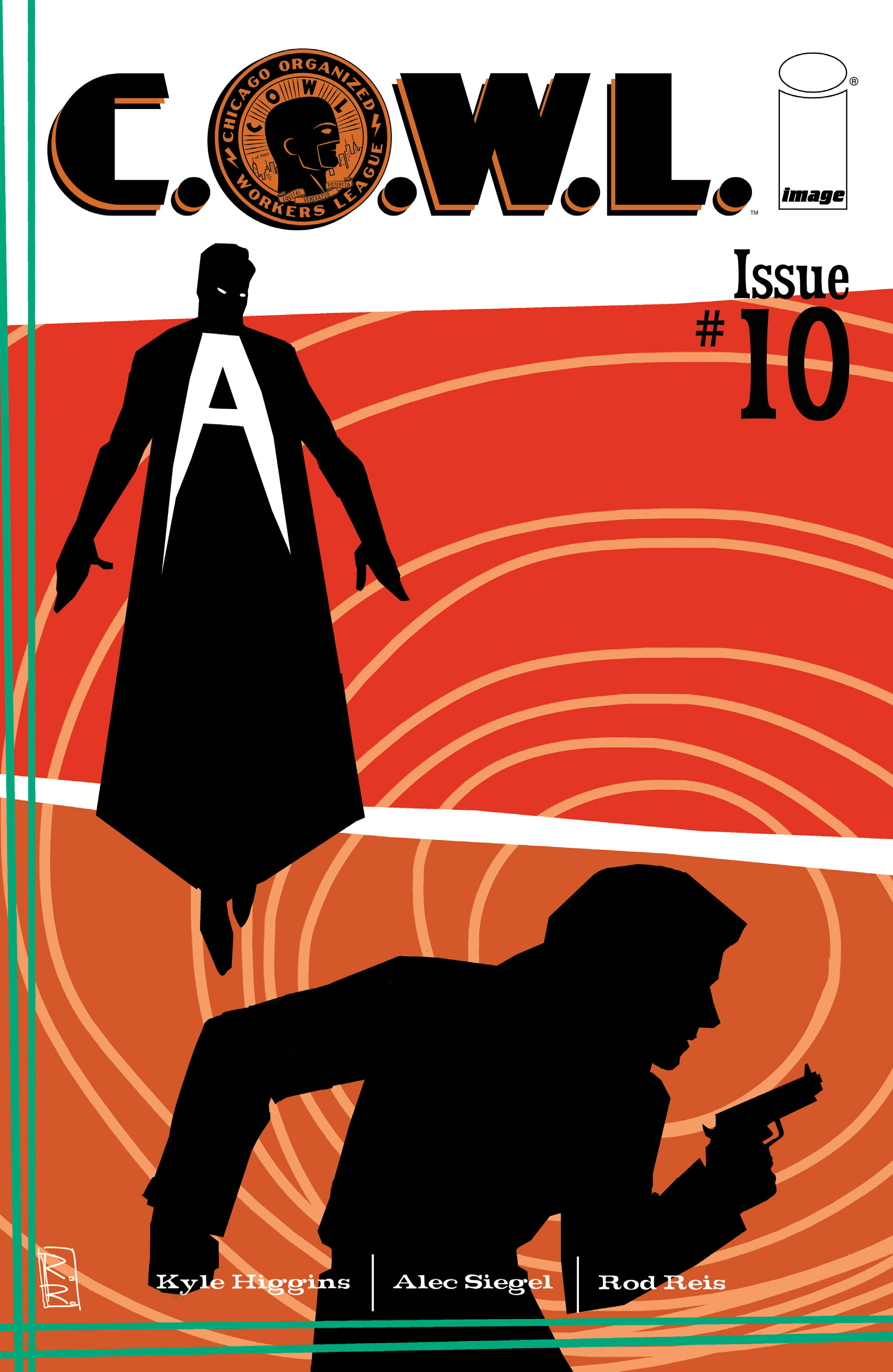 Read online C.O.W.L. comic -  Issue #10 - 1