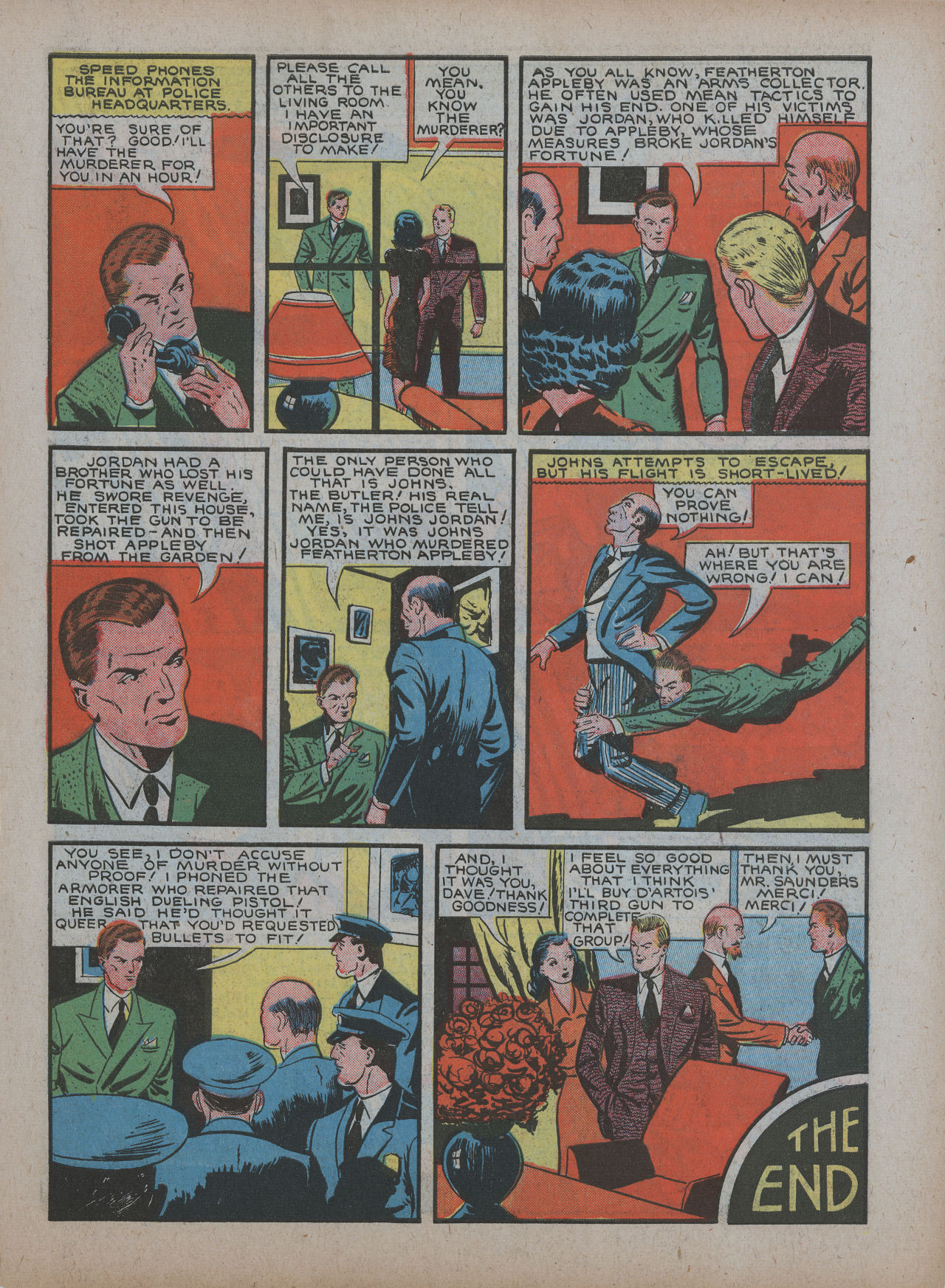 Read online Detective Comics (1937) comic -  Issue #48 - 43