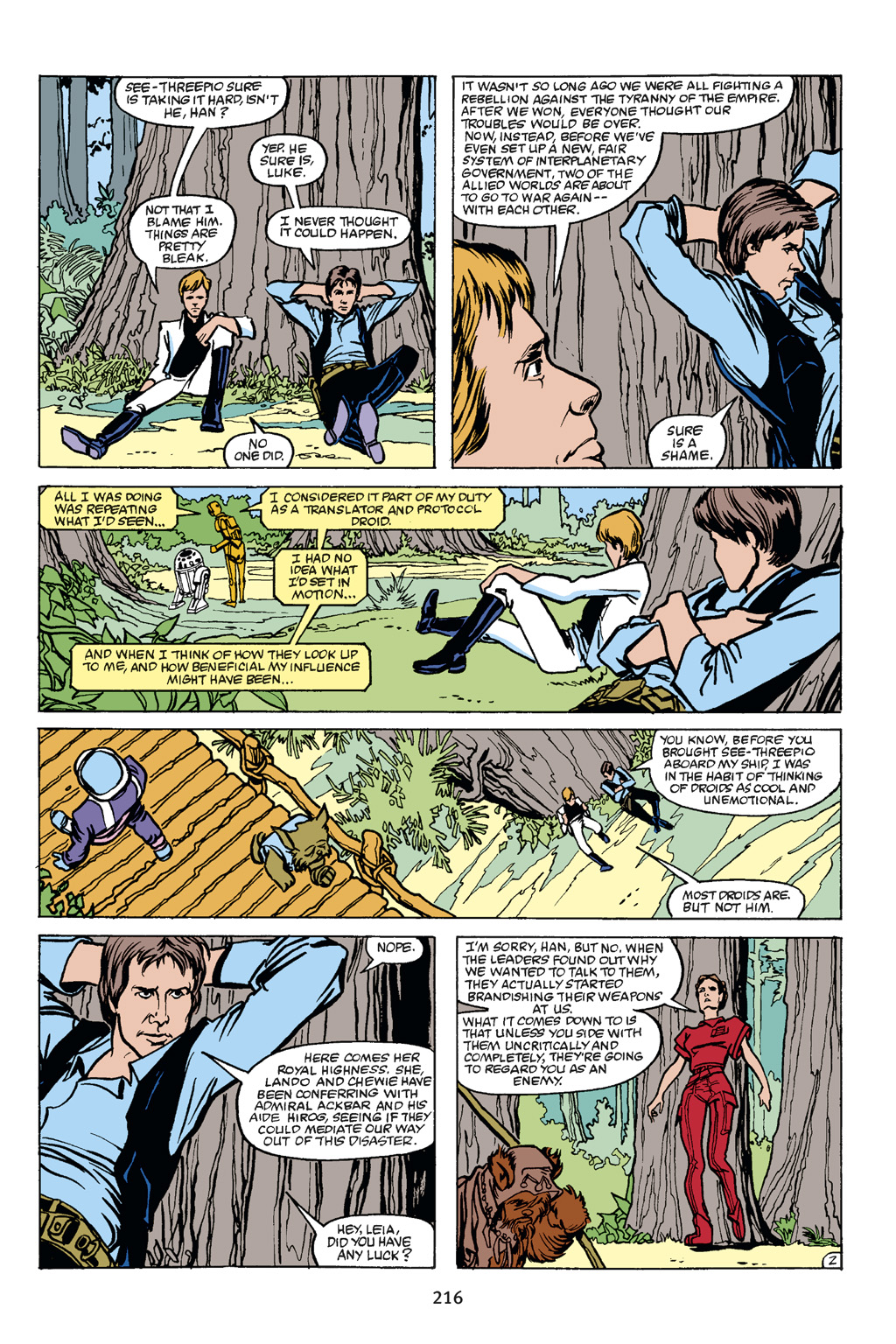 Read online Star Wars Omnibus comic -  Issue # Vol. 21 - 207