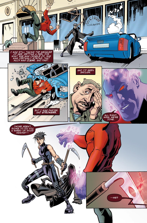 Read online Wonder Man (2007) comic -  Issue #1 - 12