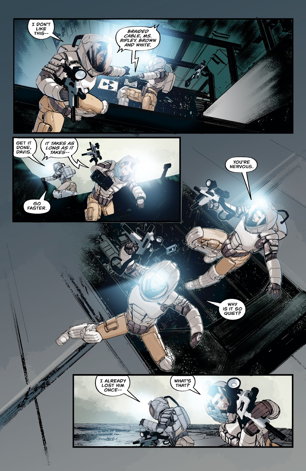 Read online Aliens: Resistance comic -  Issue #2 - 18