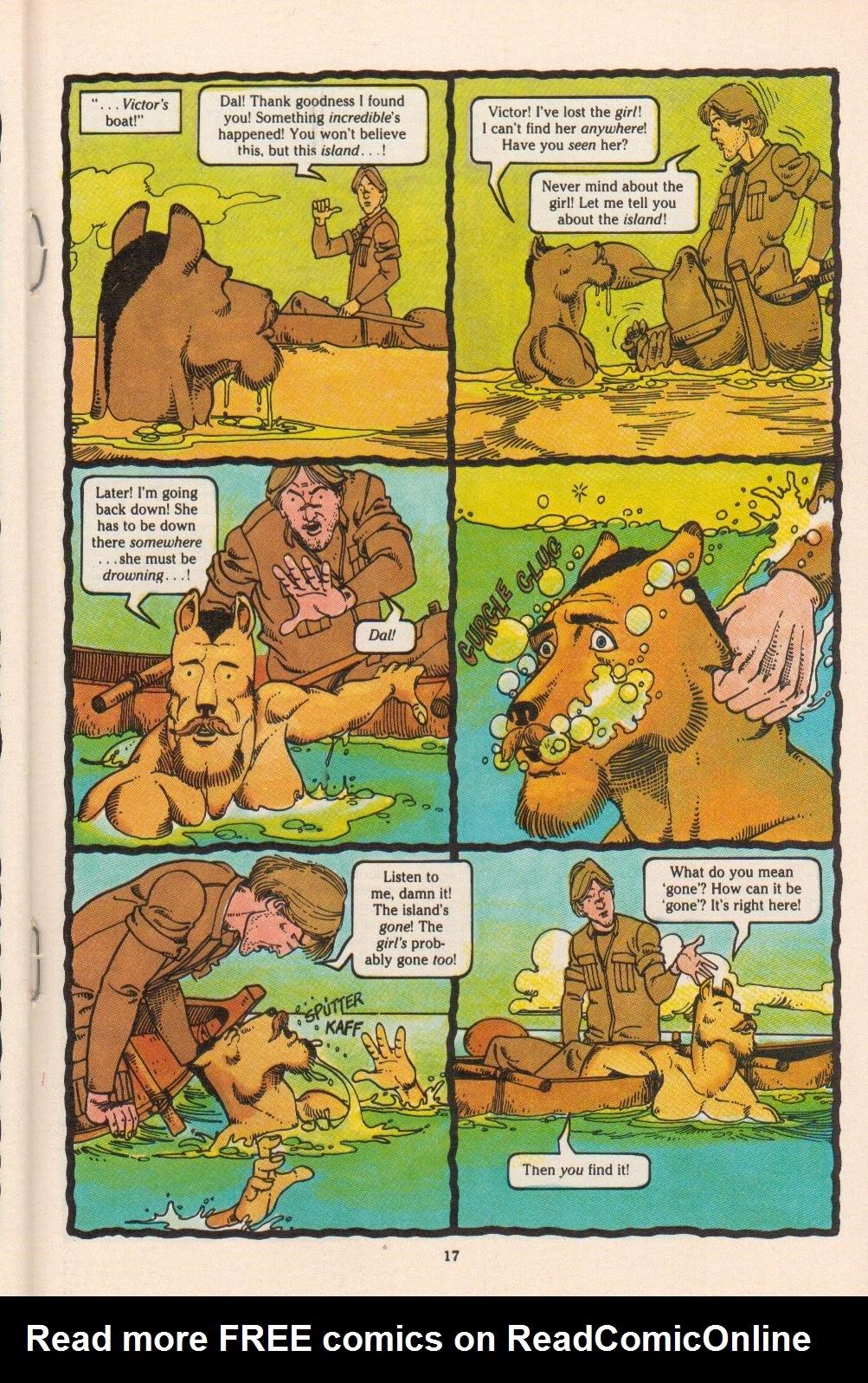 Read online Dalgoda comic -  Issue #4 - 19
