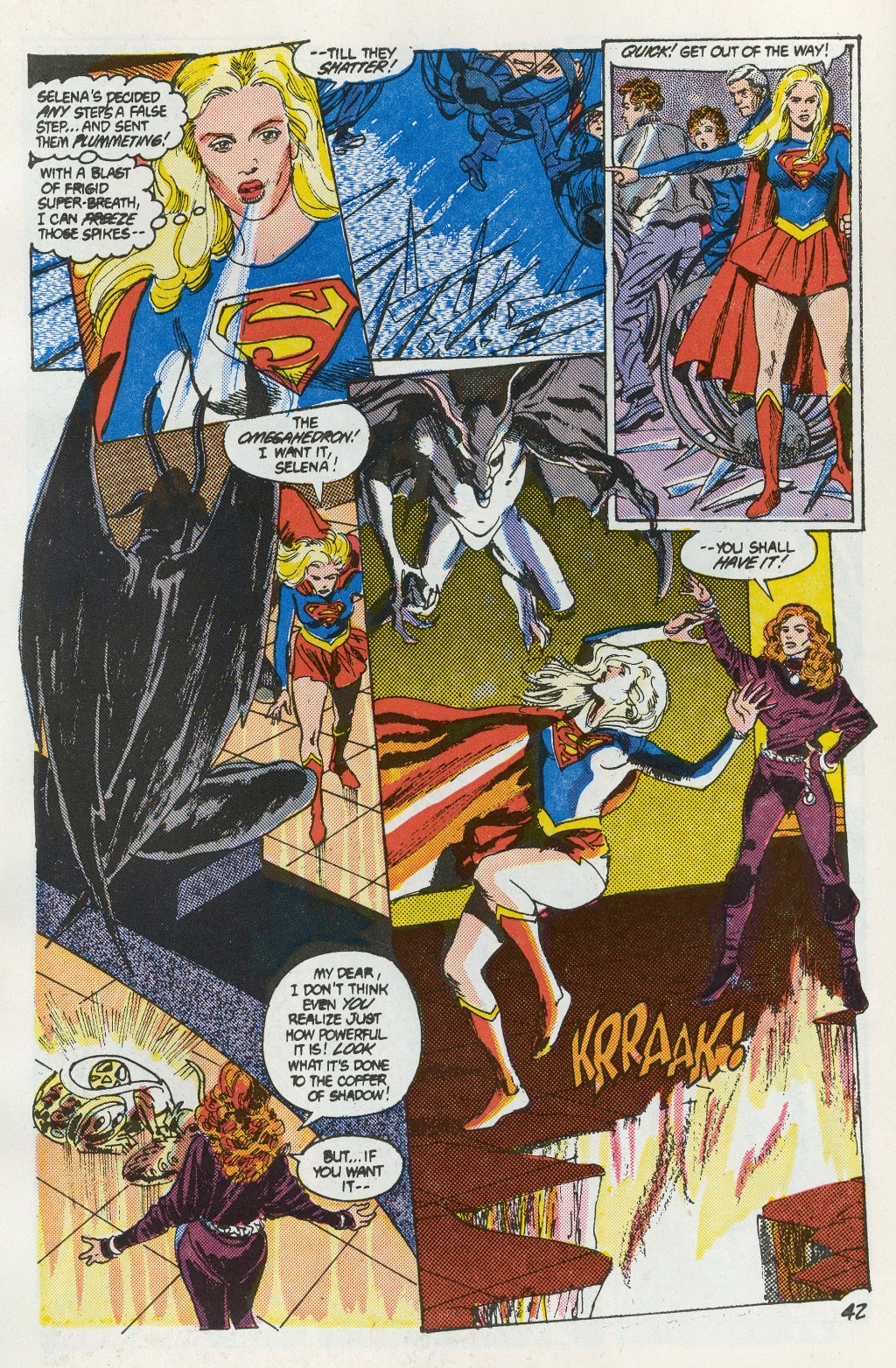 Read online Supergirl Movie Special comic -  Issue # Full - 44