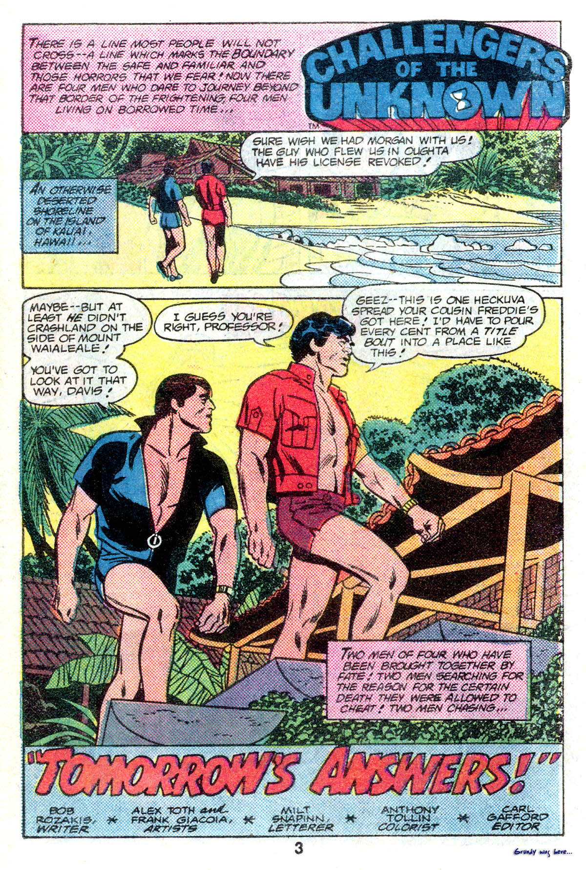 Read online Adventure Comics (1938) comic -  Issue #496 - 3