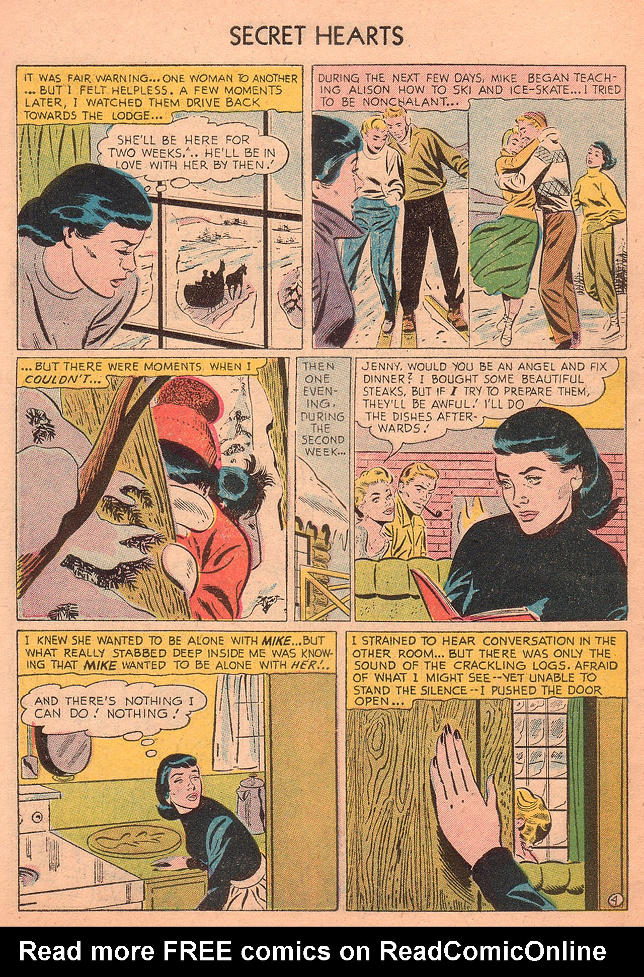 Read online Secret Hearts comic -  Issue #27 - 6