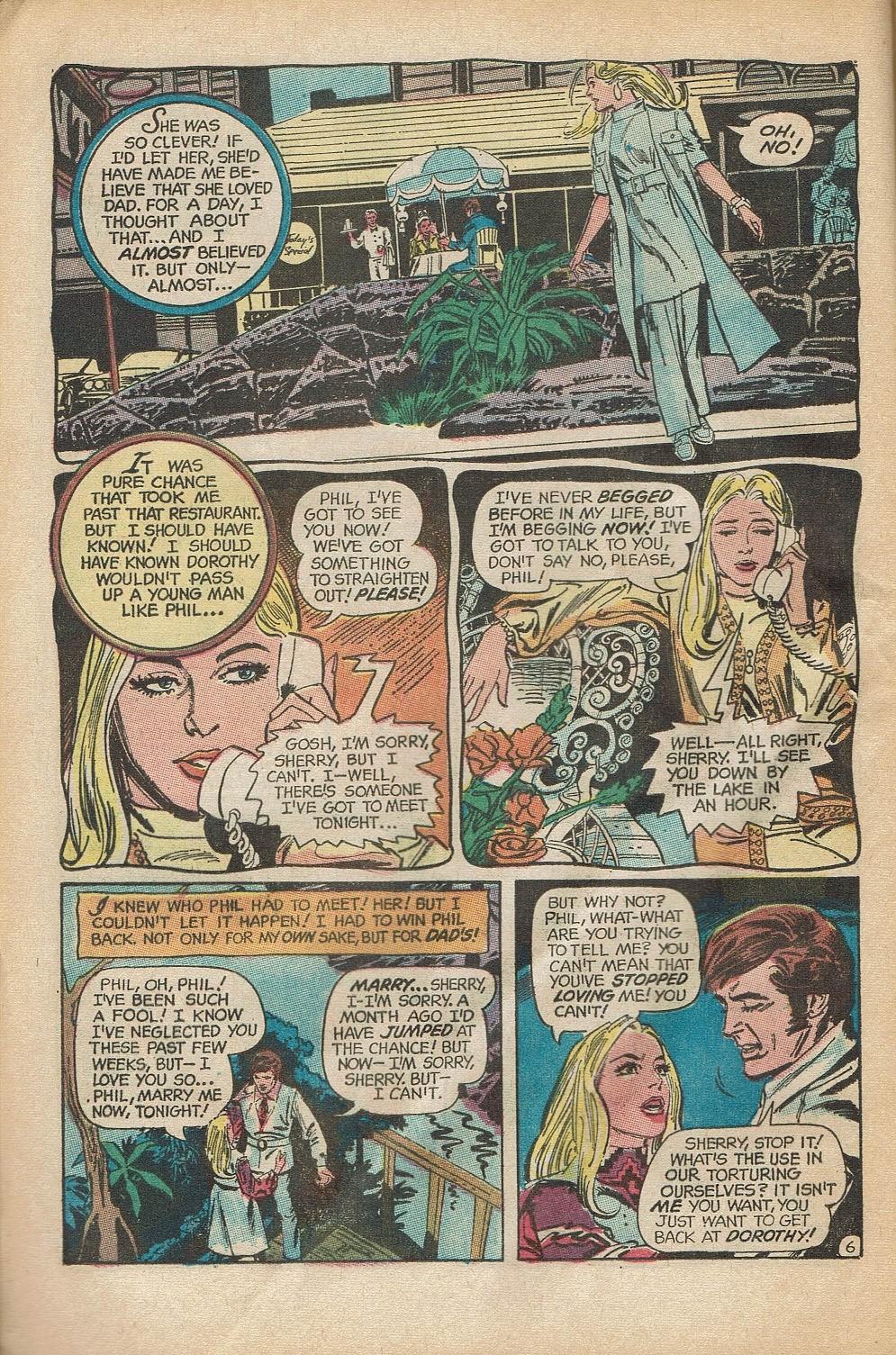 Read online Secret Hearts comic -  Issue #152 - 8
