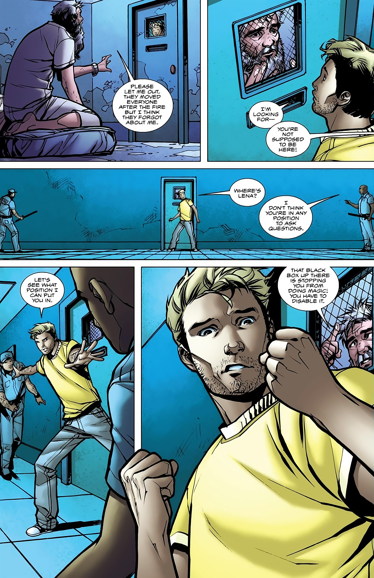 Read online Magus comic -  Issue #5 - 16