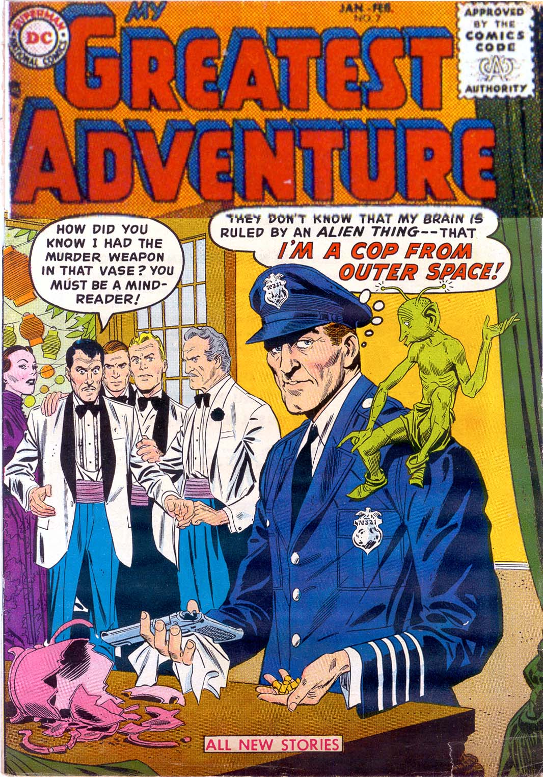 My Greatest Adventure (1955) 7 Page 1