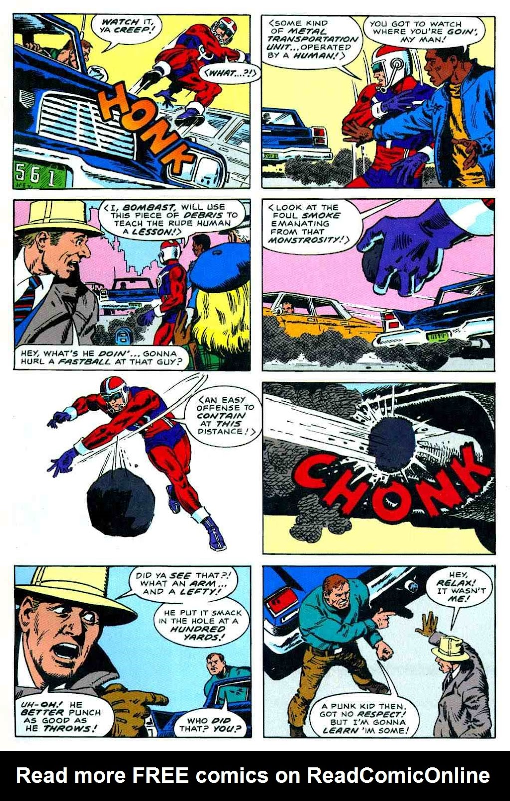 Read online Bombast comic -  Issue # Full - 13