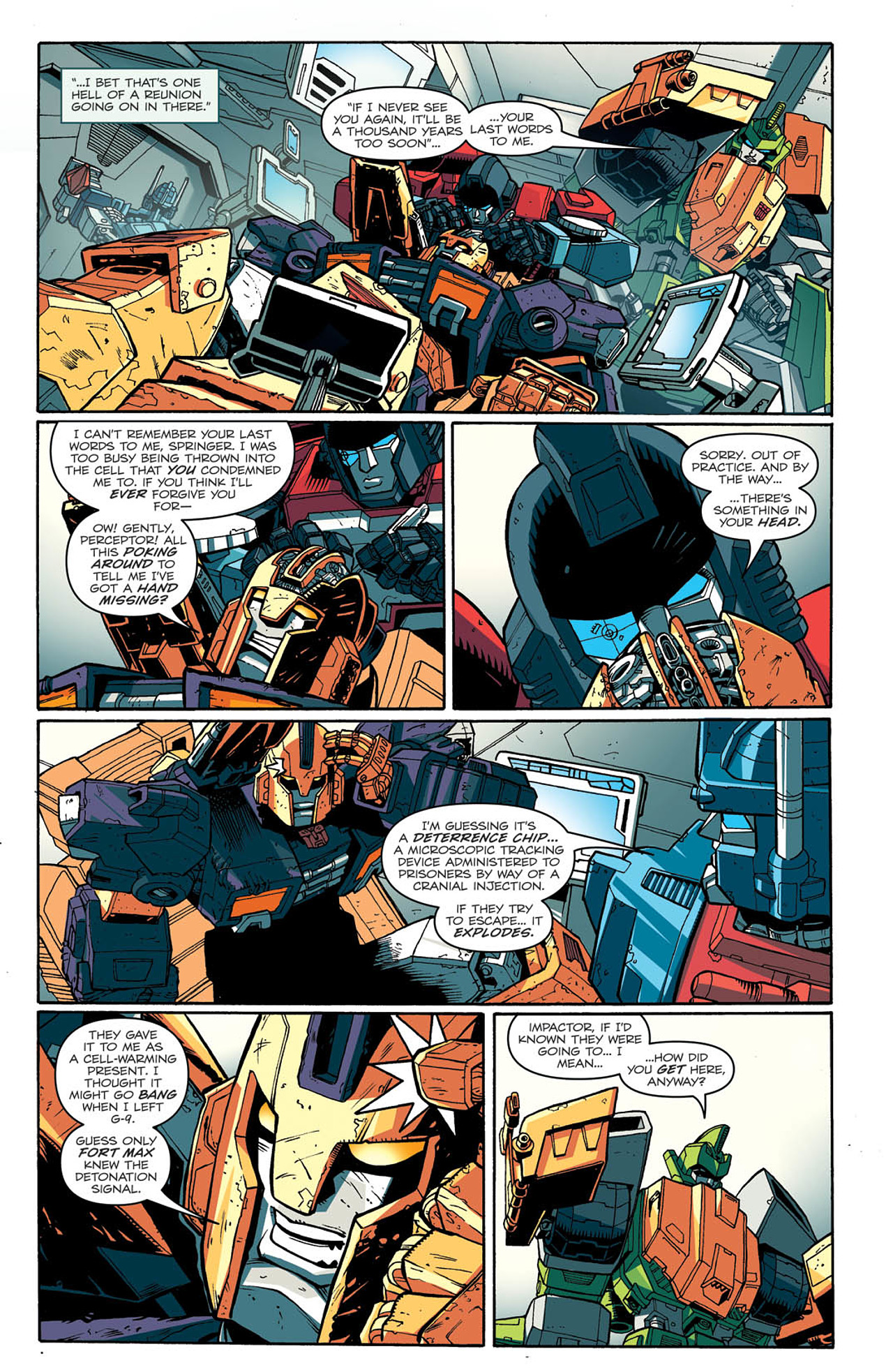 Read online Transformers: Last Stand of The Wreckers comic -  Issue #2 - 9