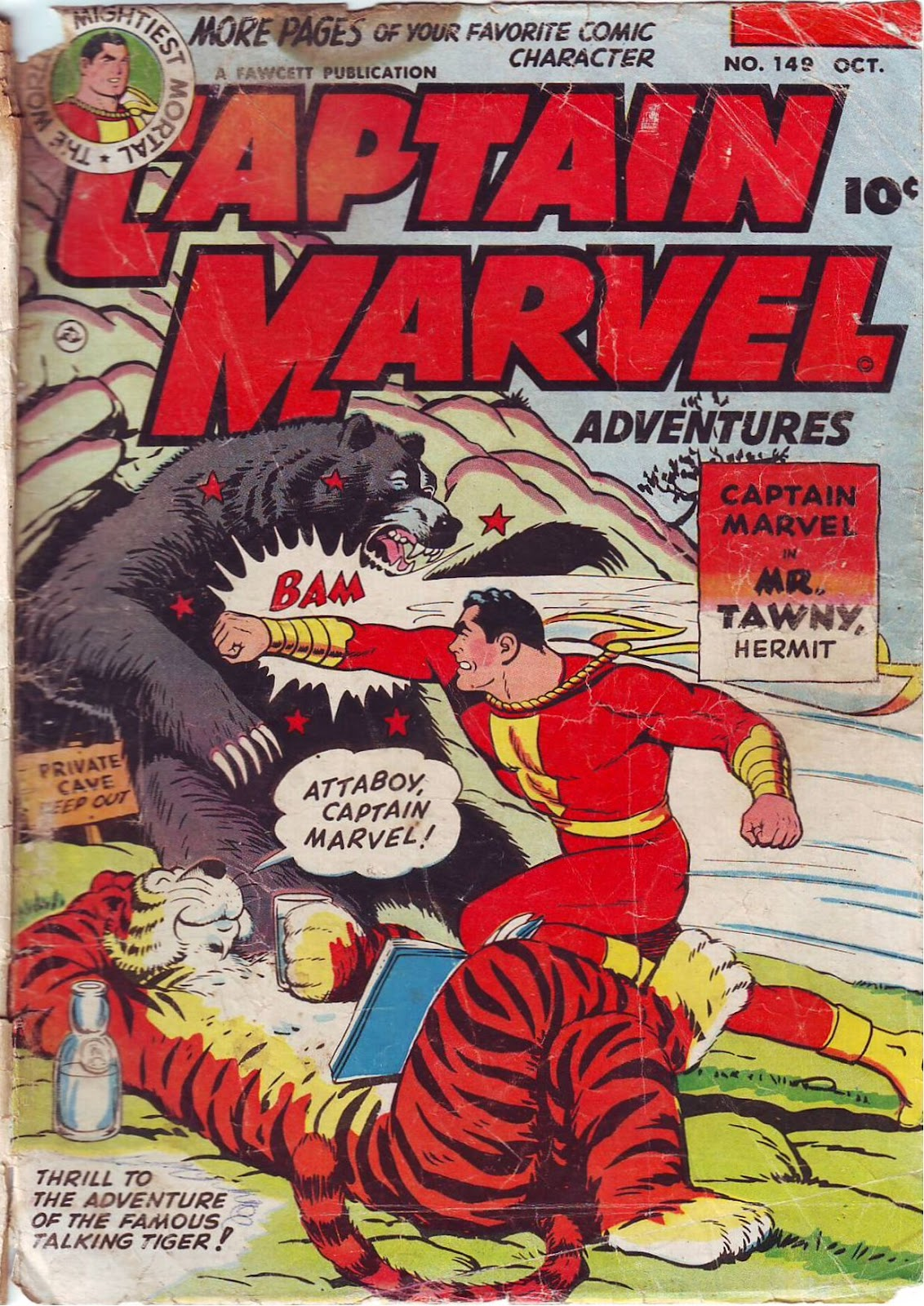 Captain Marvel Adventures issue 149 - Page 1