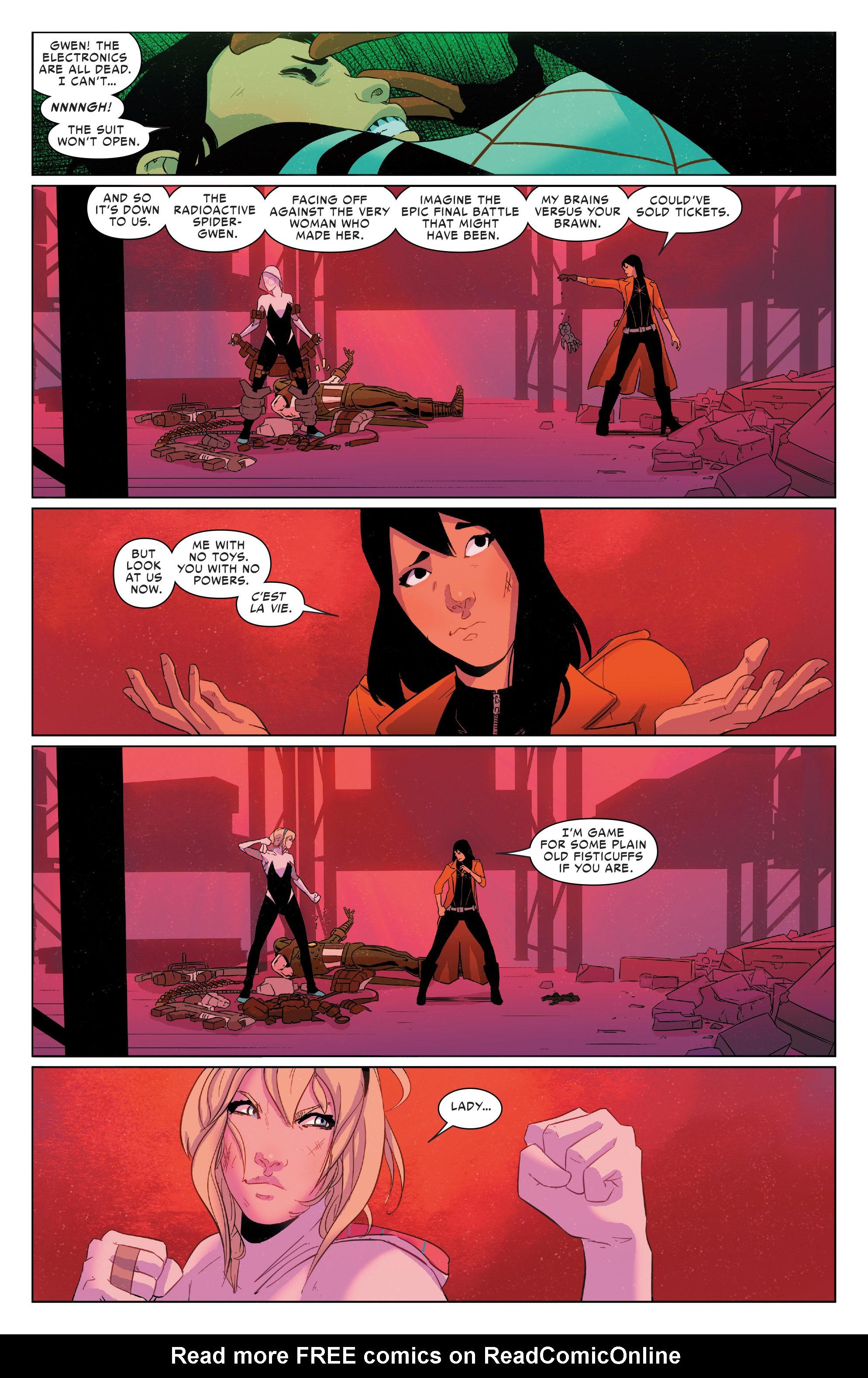 Read online Spider-Women Omega comic -  Issue # Full - 23