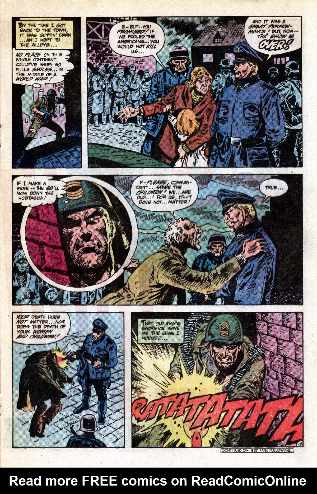 Read online Sgt. Rock comic -  Issue #391 - 14