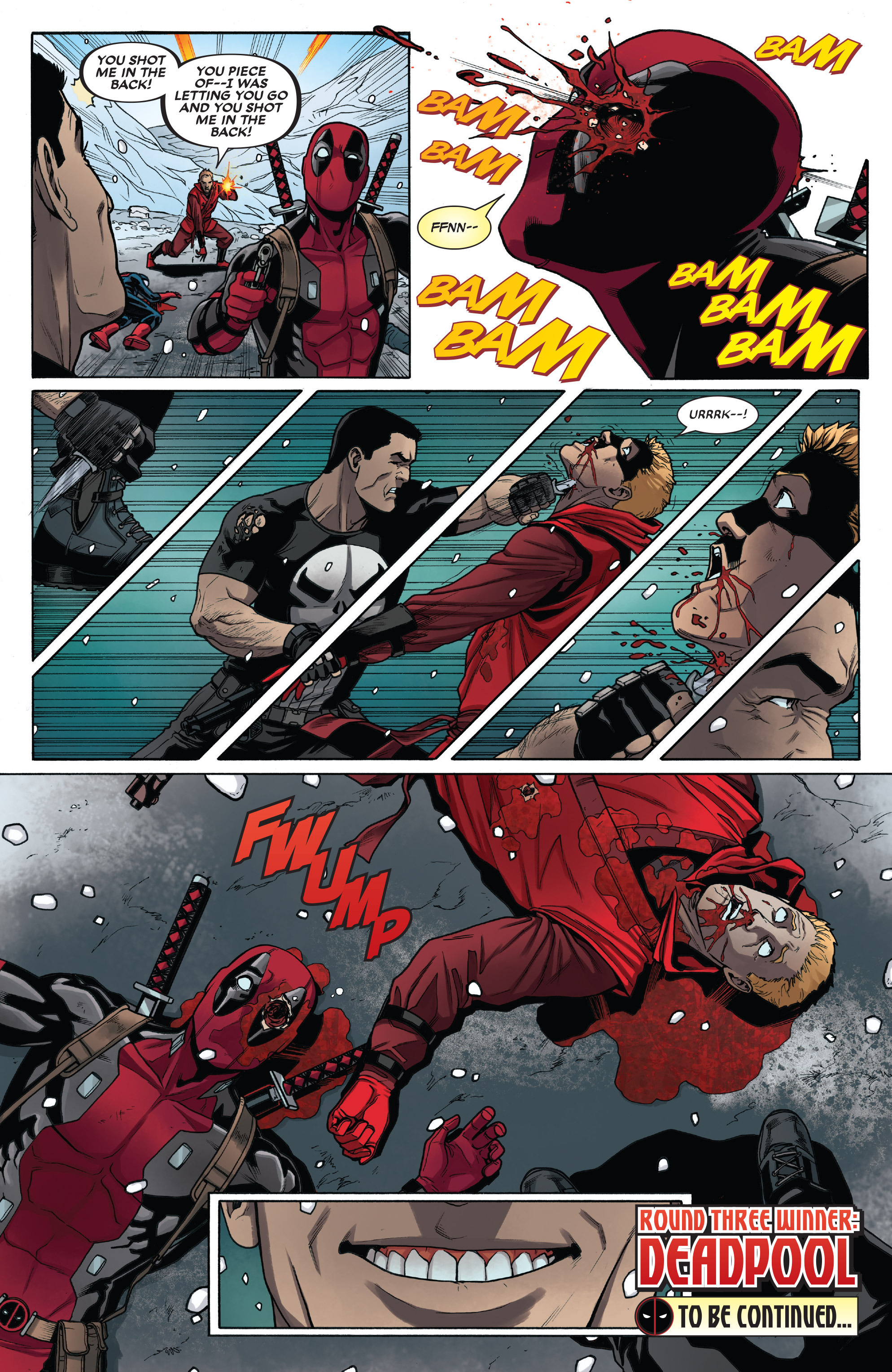 Read online Deadpool vs. The Punisher comic -  Issue #3 - 21