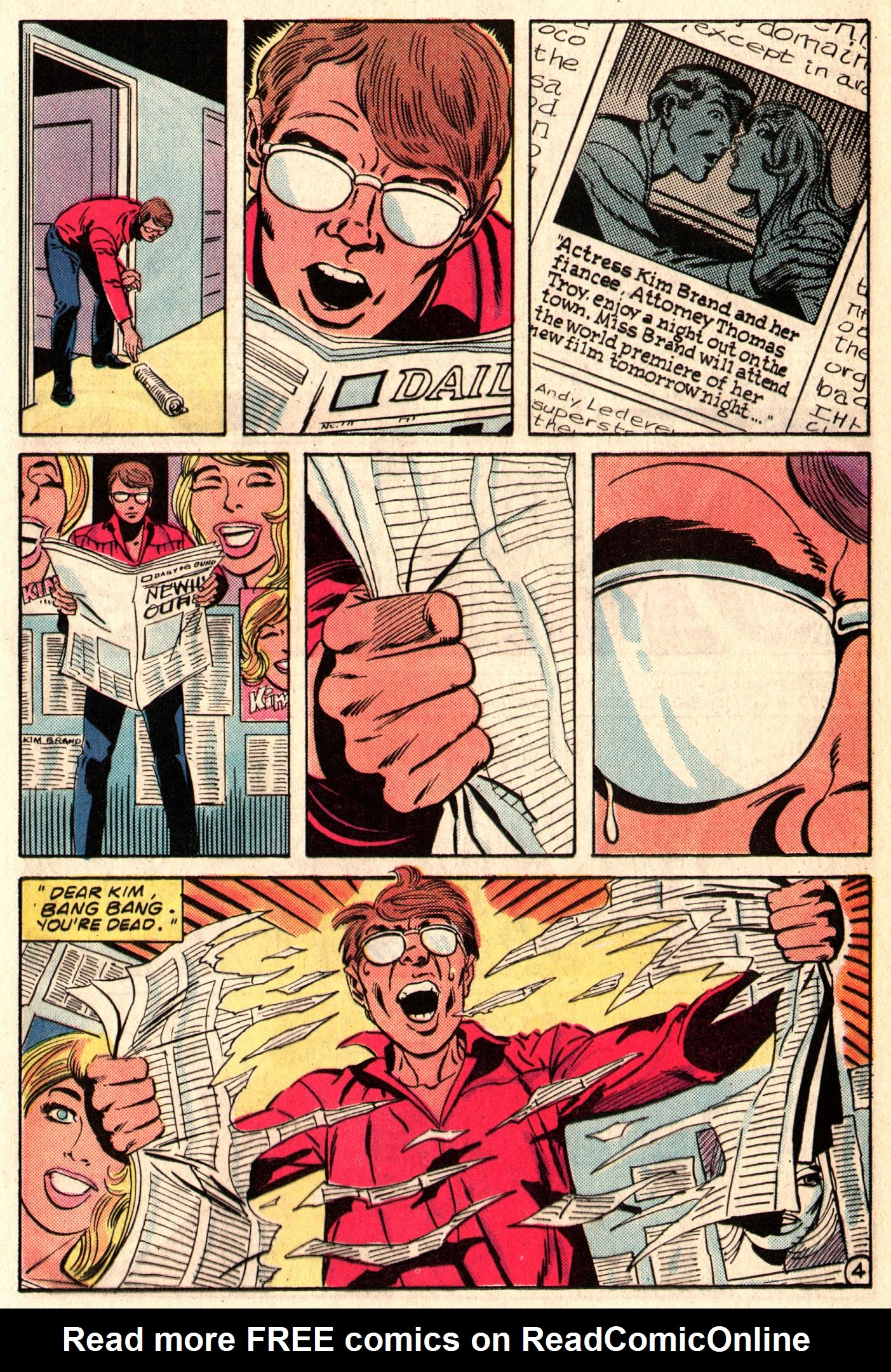 Read online The Fly (1983) comic -  Issue #3 - 24