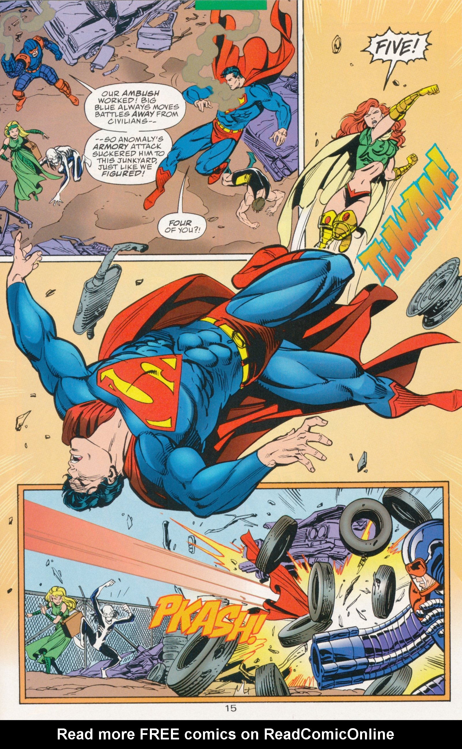Read online Action Comics (1938) comic -  Issue #730 - 21
