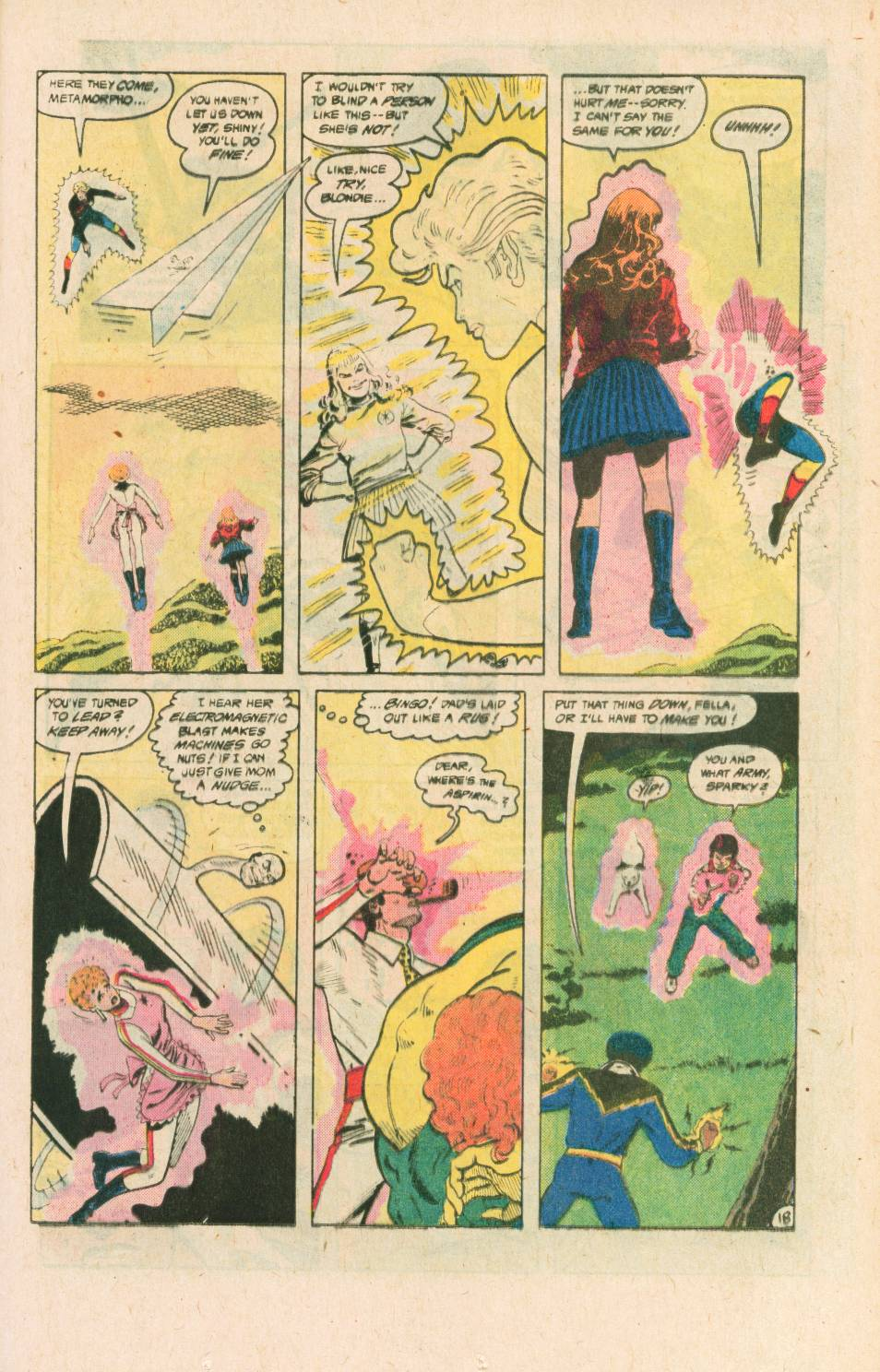 Read online Adventures of the Outsiders comic -  Issue #40 - 19